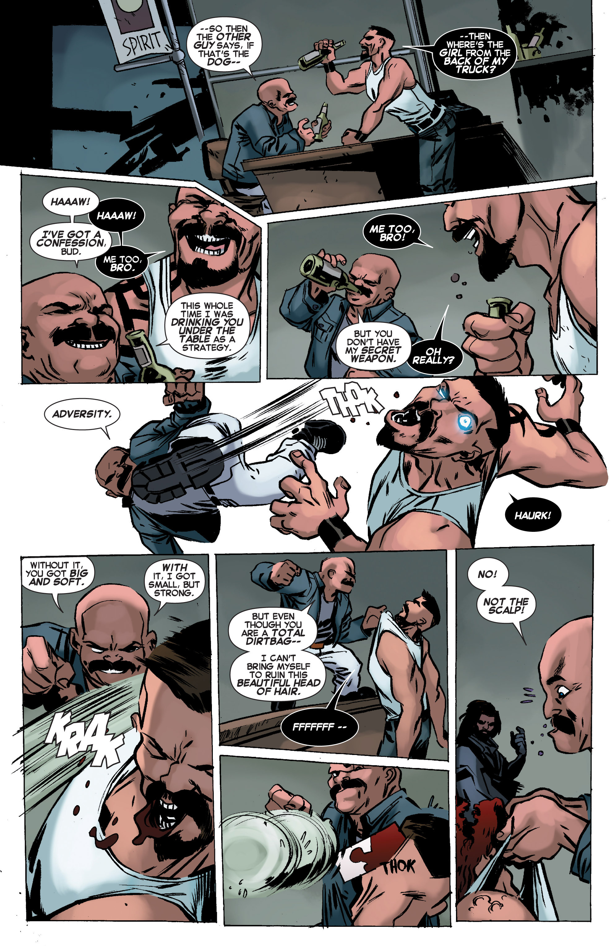 Read online Uncanny X-Force (2013) comic -  Issue #11 - 16