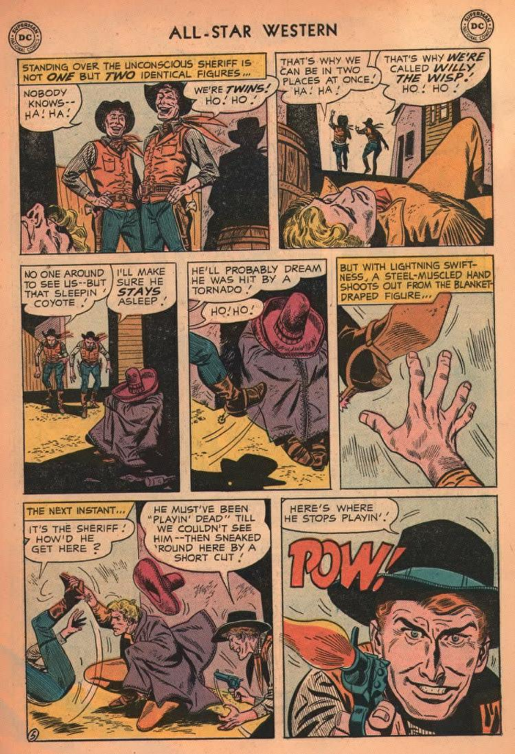 Read online All-Star Western (1951) comic -  Issue #87 - 31