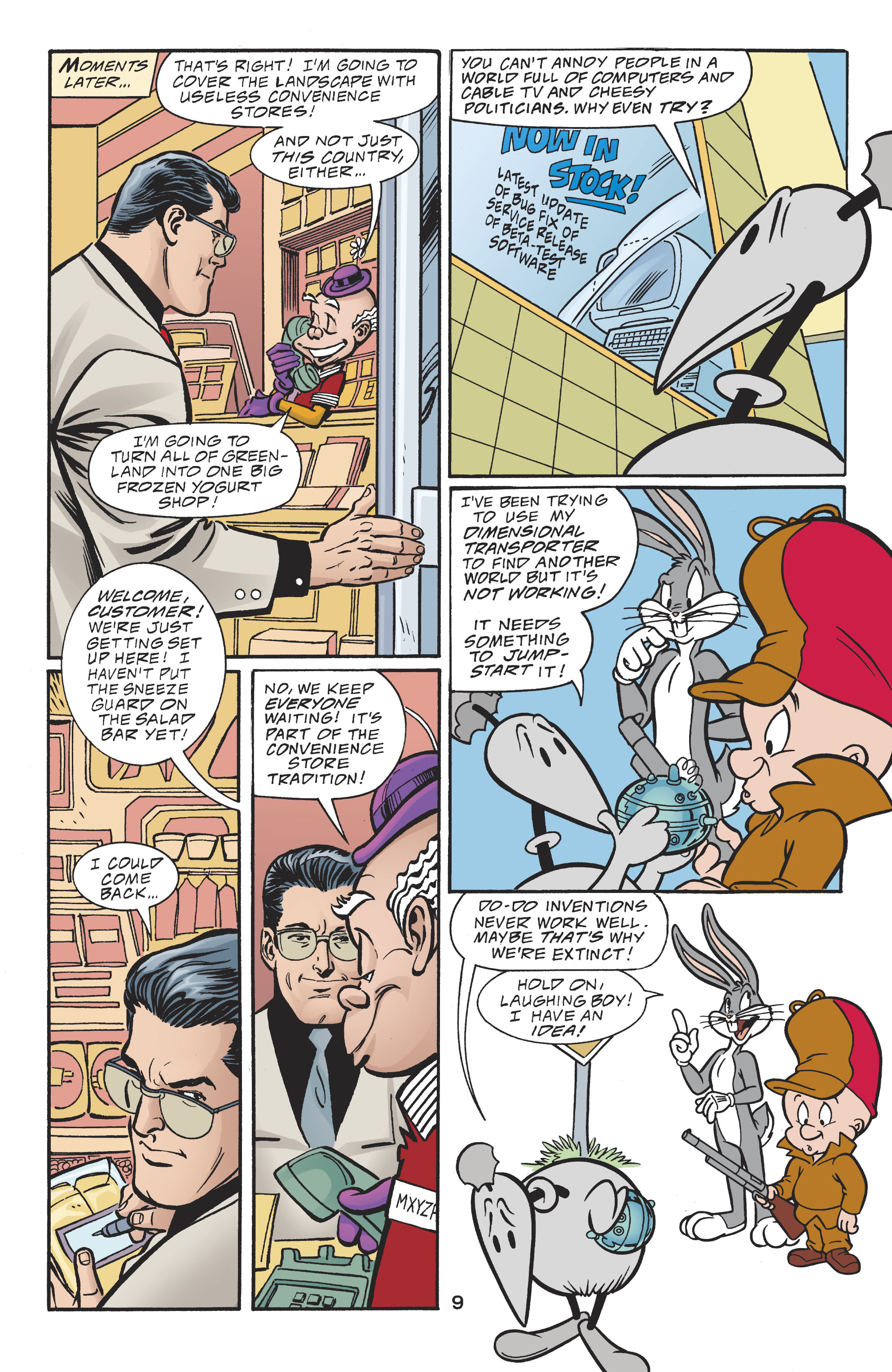 Read online DC/Looney Tunes 100-Page Super Spectacular comic -  Issue # Full - 10