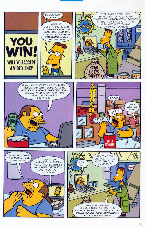 Read online Simpsons Comics comic -  Issue #78 - 22