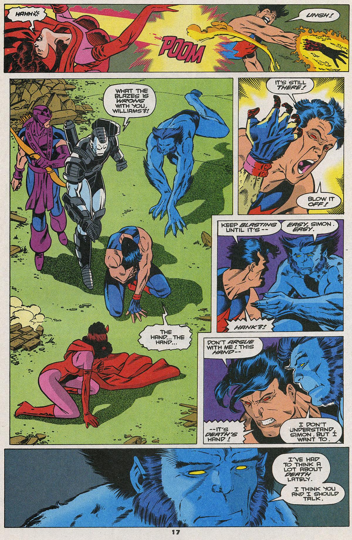 Read online Wonder Man (1991) comic -  Issue #23 - 13