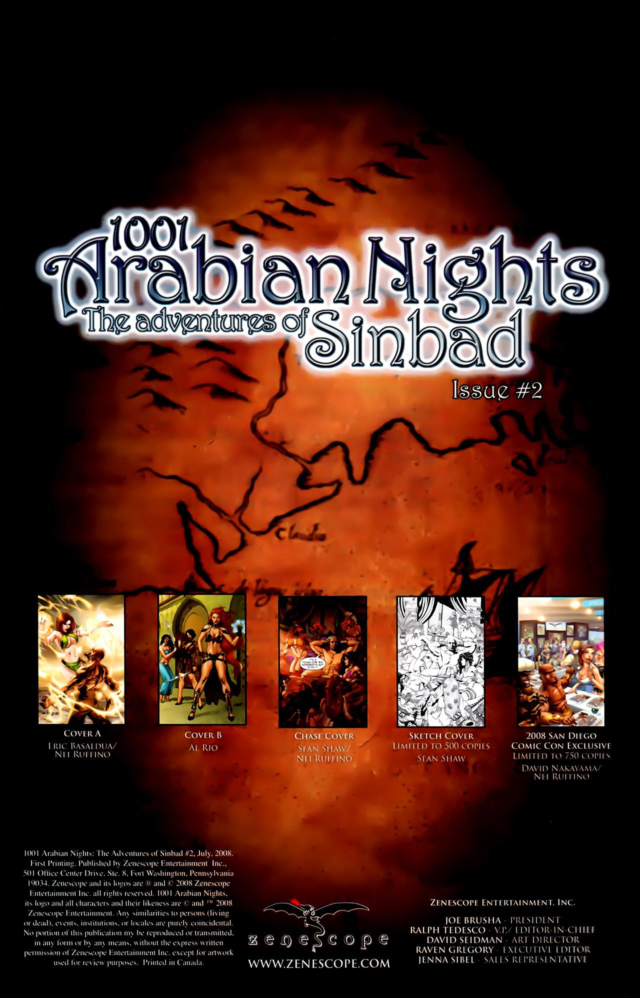 Read online 1001 Arabian Nights: The Adventures of Sinbad comic -  Issue #2 - 6