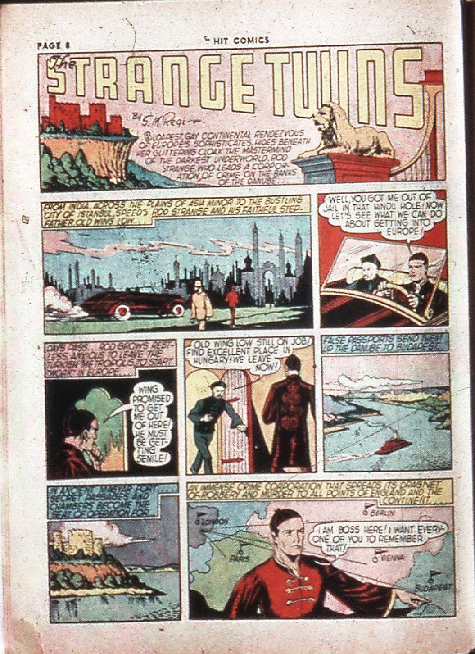 Read online Hit Comics comic -  Issue #4 - 10
