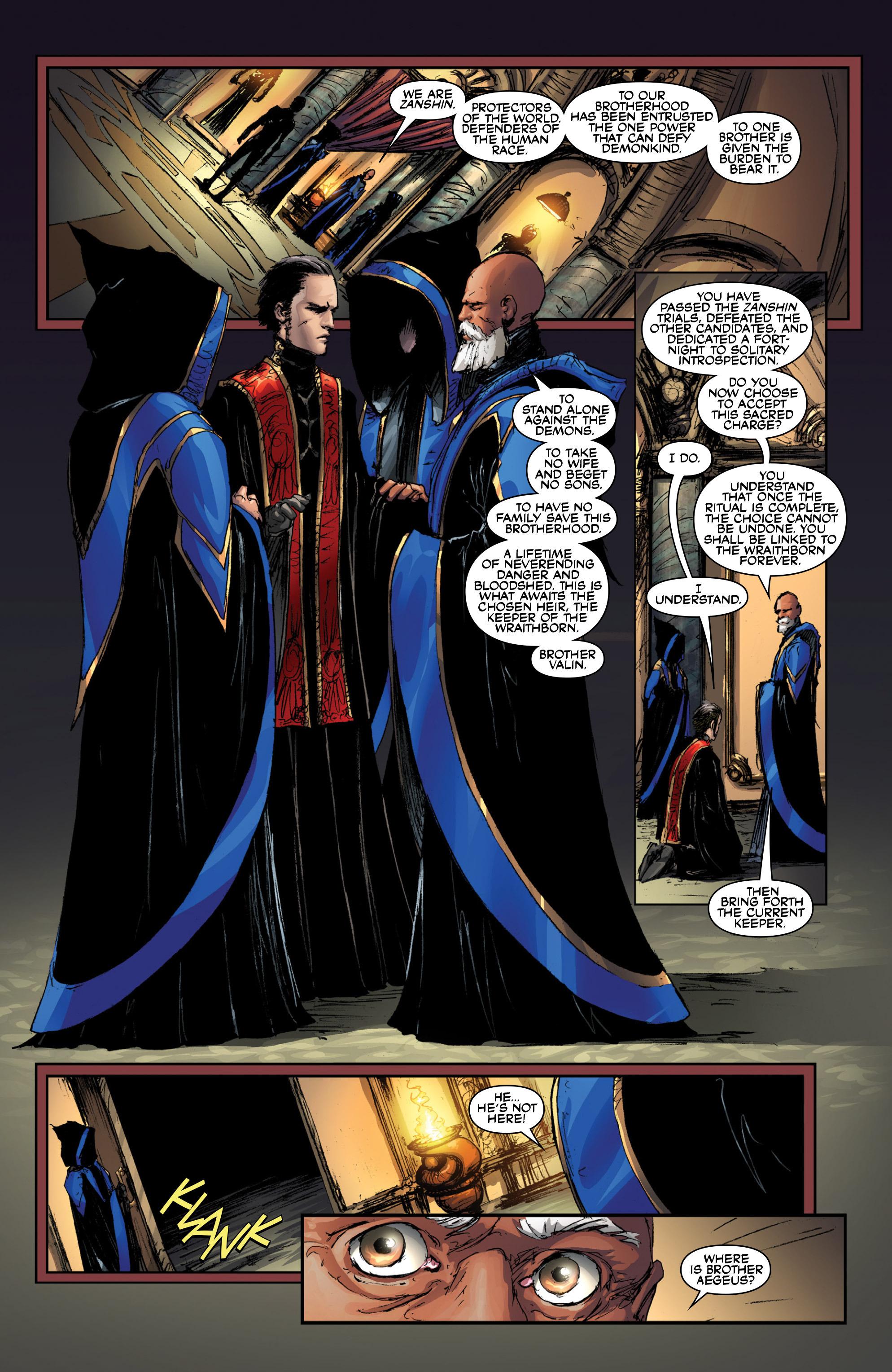 Read online Wraithborn Redux comic -  Issue #1 - 19