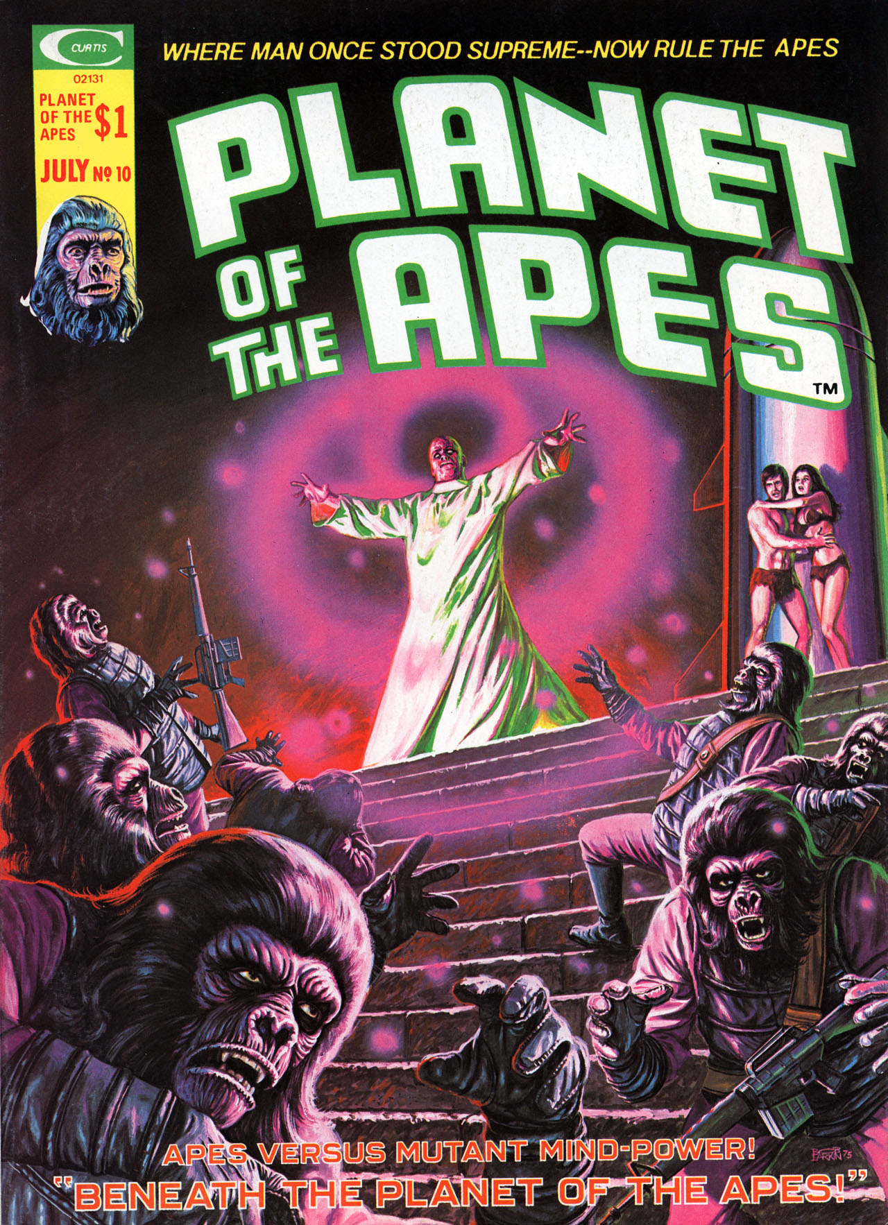 Planet of the Apes (1974) 10 Page 1