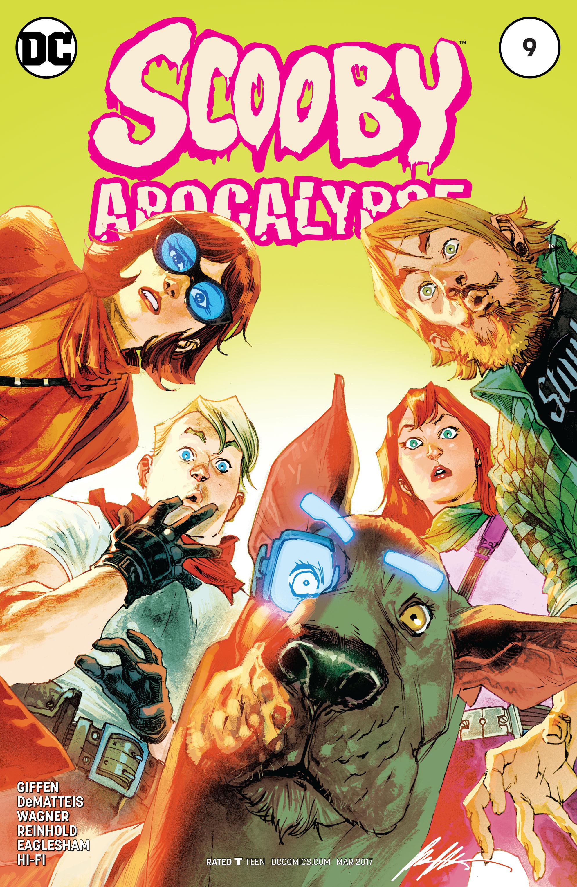 Read online Scooby Apocalypse comic -  Issue #9 - 3