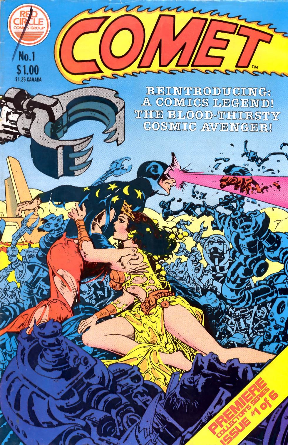 The Comet (1983) issue 1 - Page 1
