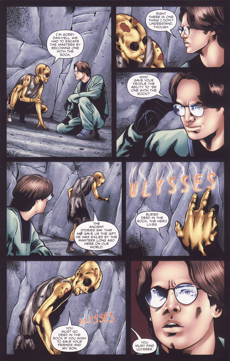 Read online Stargate SG-1: Fall of Rome comic -  Issue #2 - 7