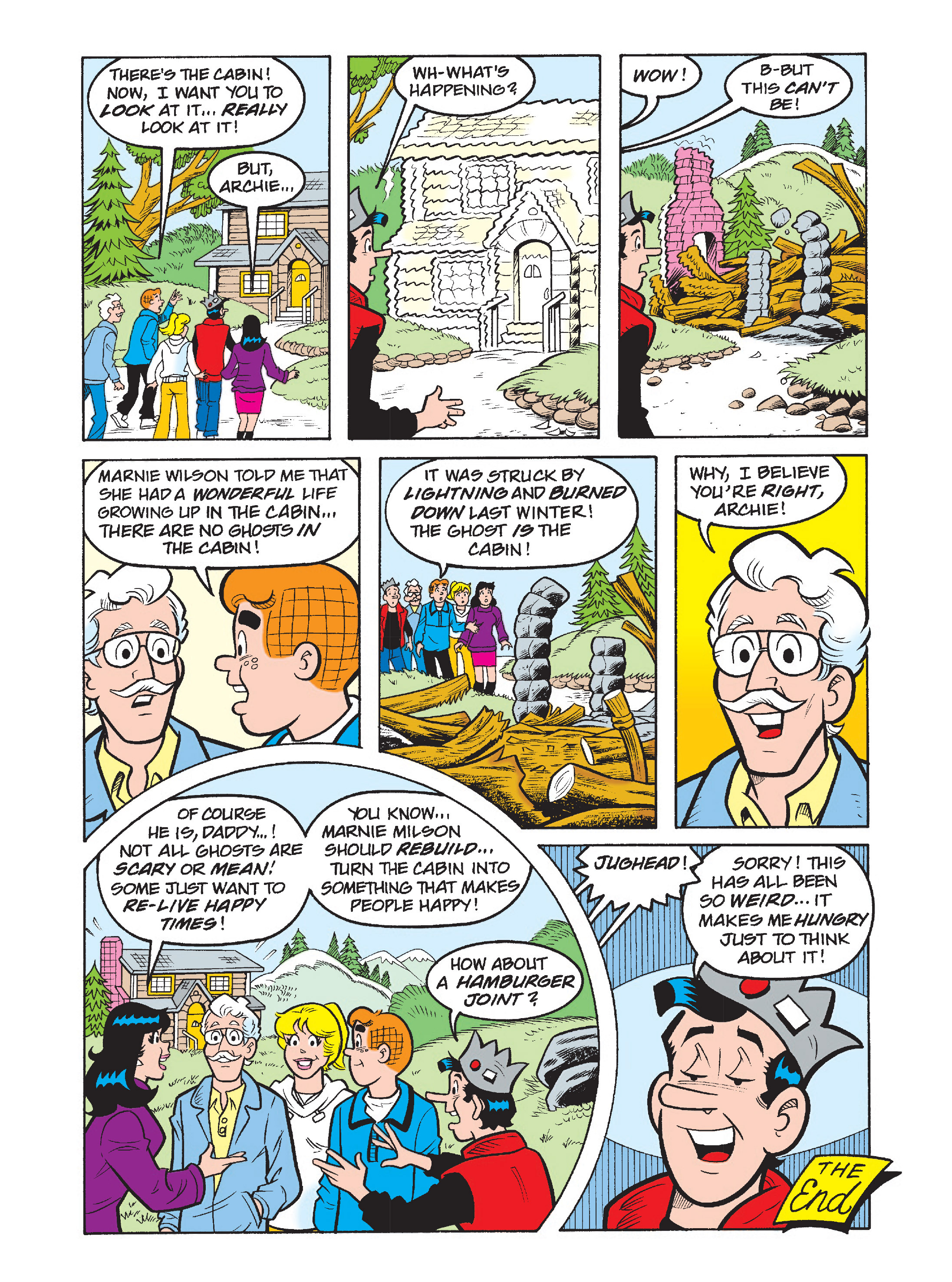 Read online Archie's Funhouse Double Digest comic -  Issue #1 - 13