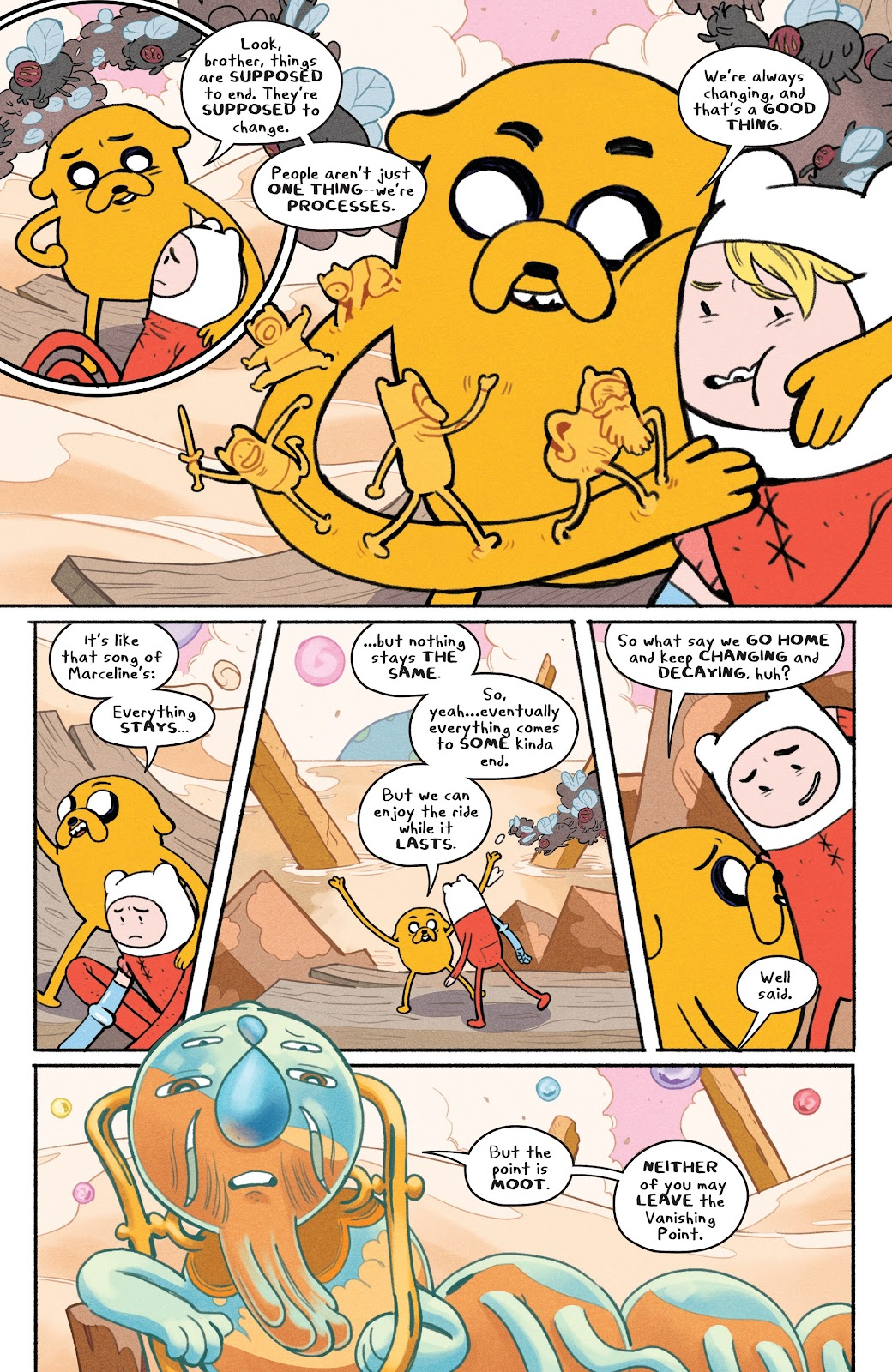 Read online Adventure Time: Beginning of the End comic -  Issue # _TPB - 68
