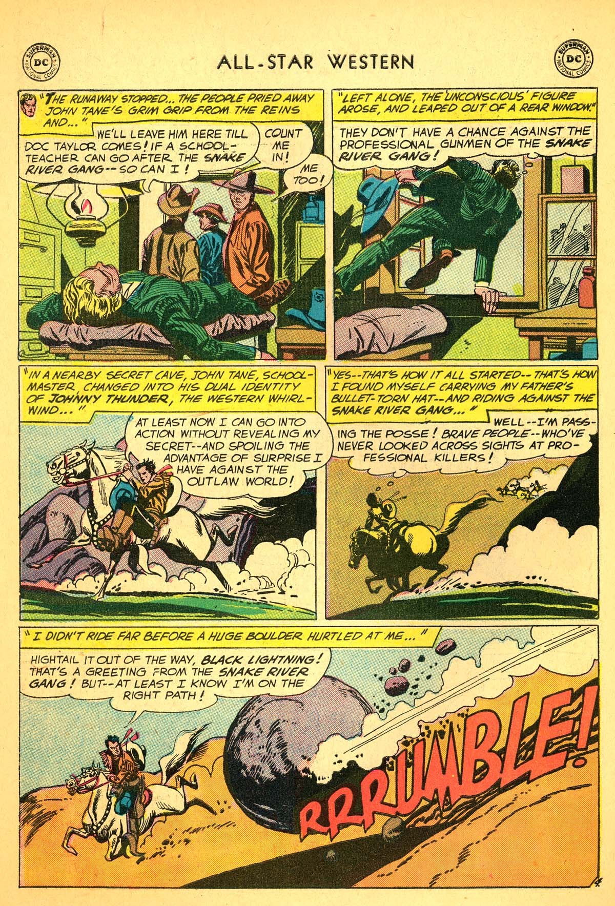 Read online All-Star Western (1951) comic -  Issue #99 - 30