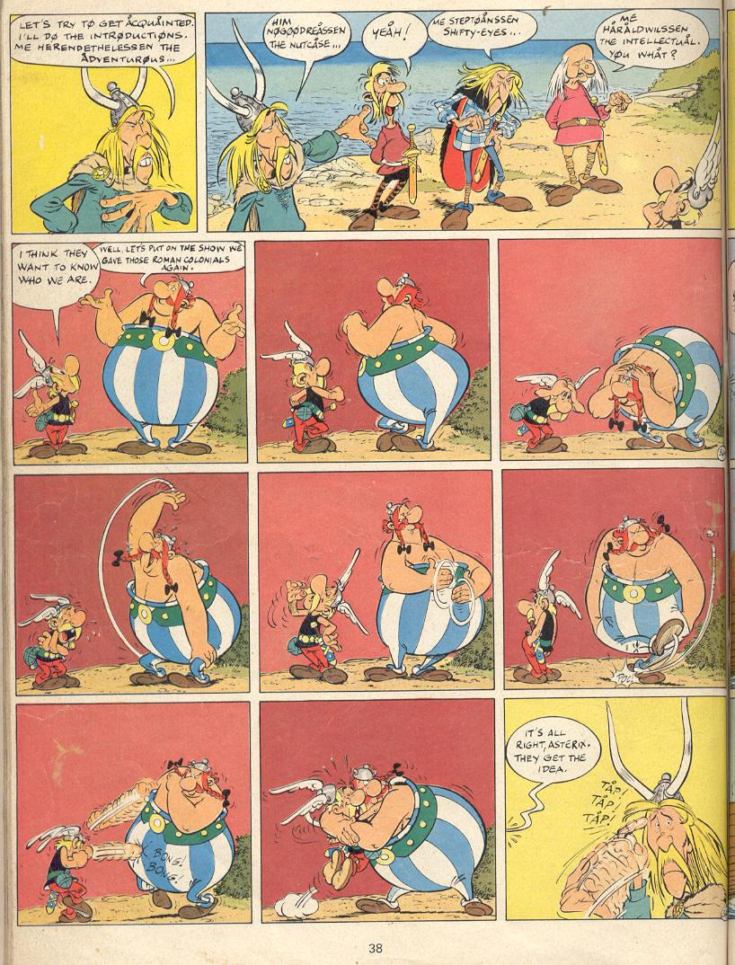 Read online Asterix comic -  Issue #22 - 35