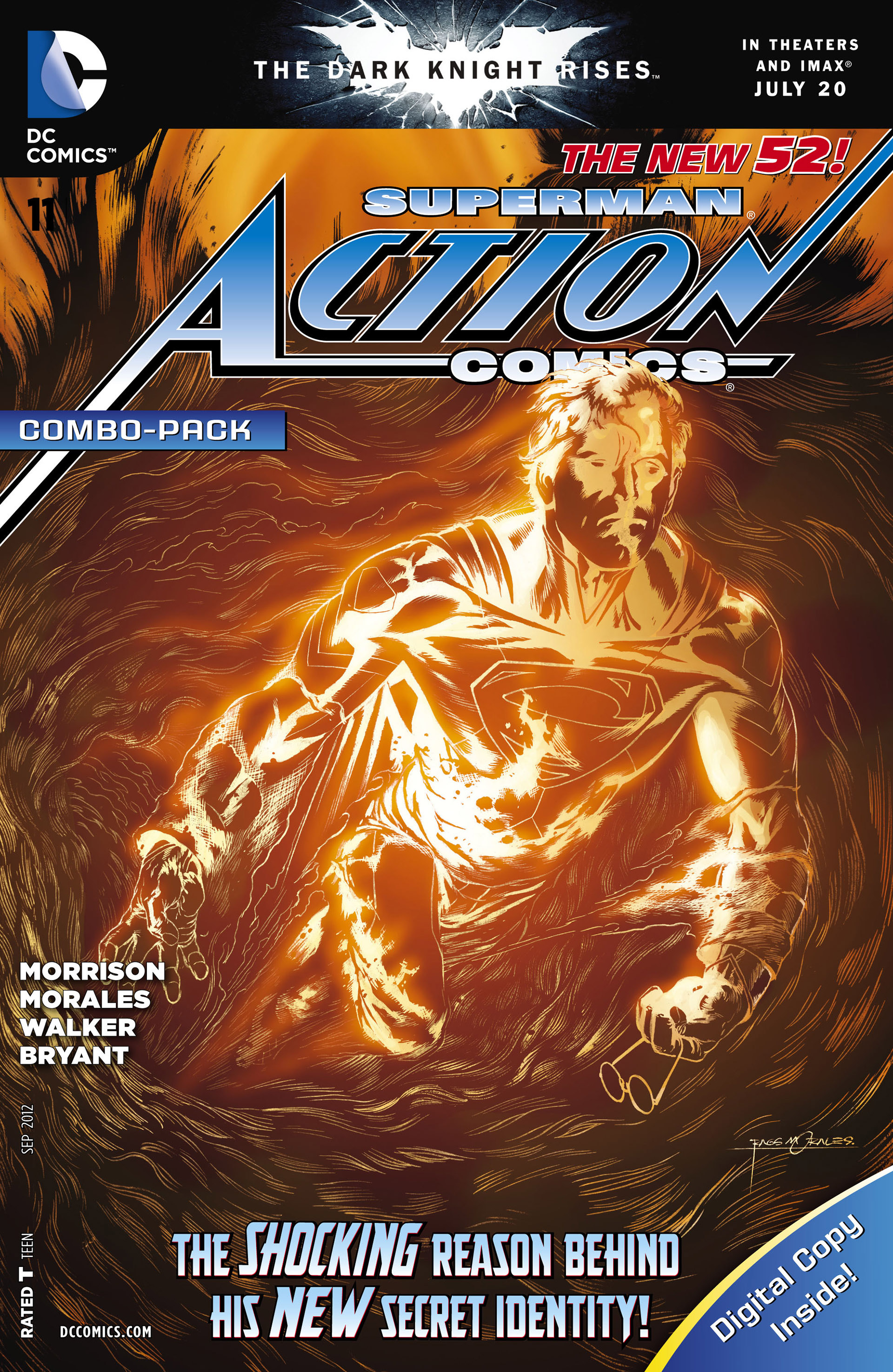 Read online Action Comics (2011) comic -  Issue #11 - 31