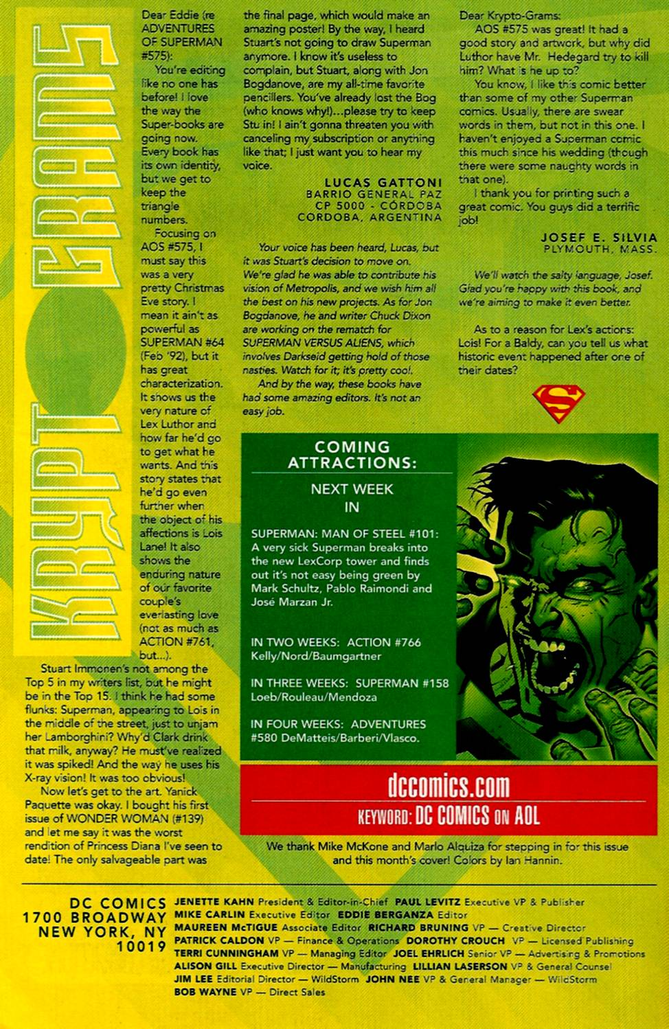 Read online Adventures of Superman (1987) comic -  Issue #579 - 24