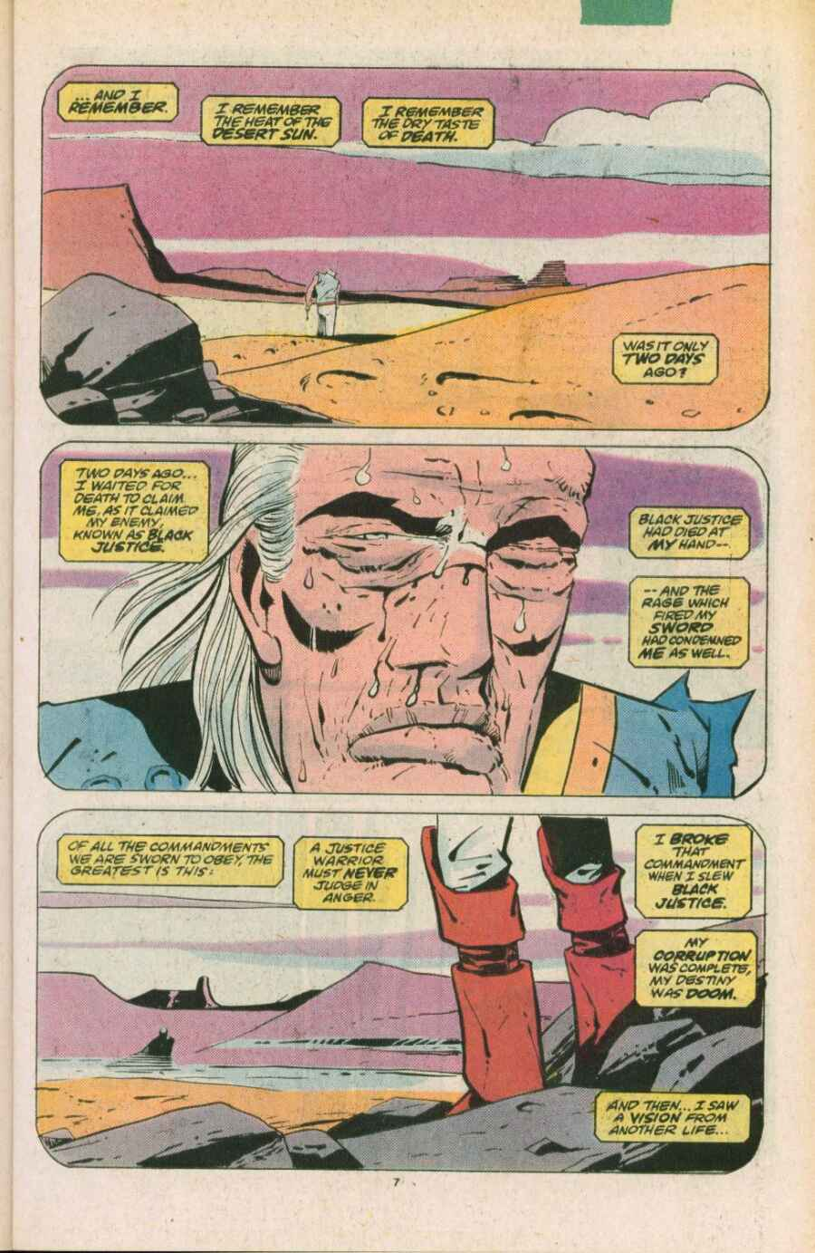 Read online Justice (1986) comic -  Issue #11 - 8