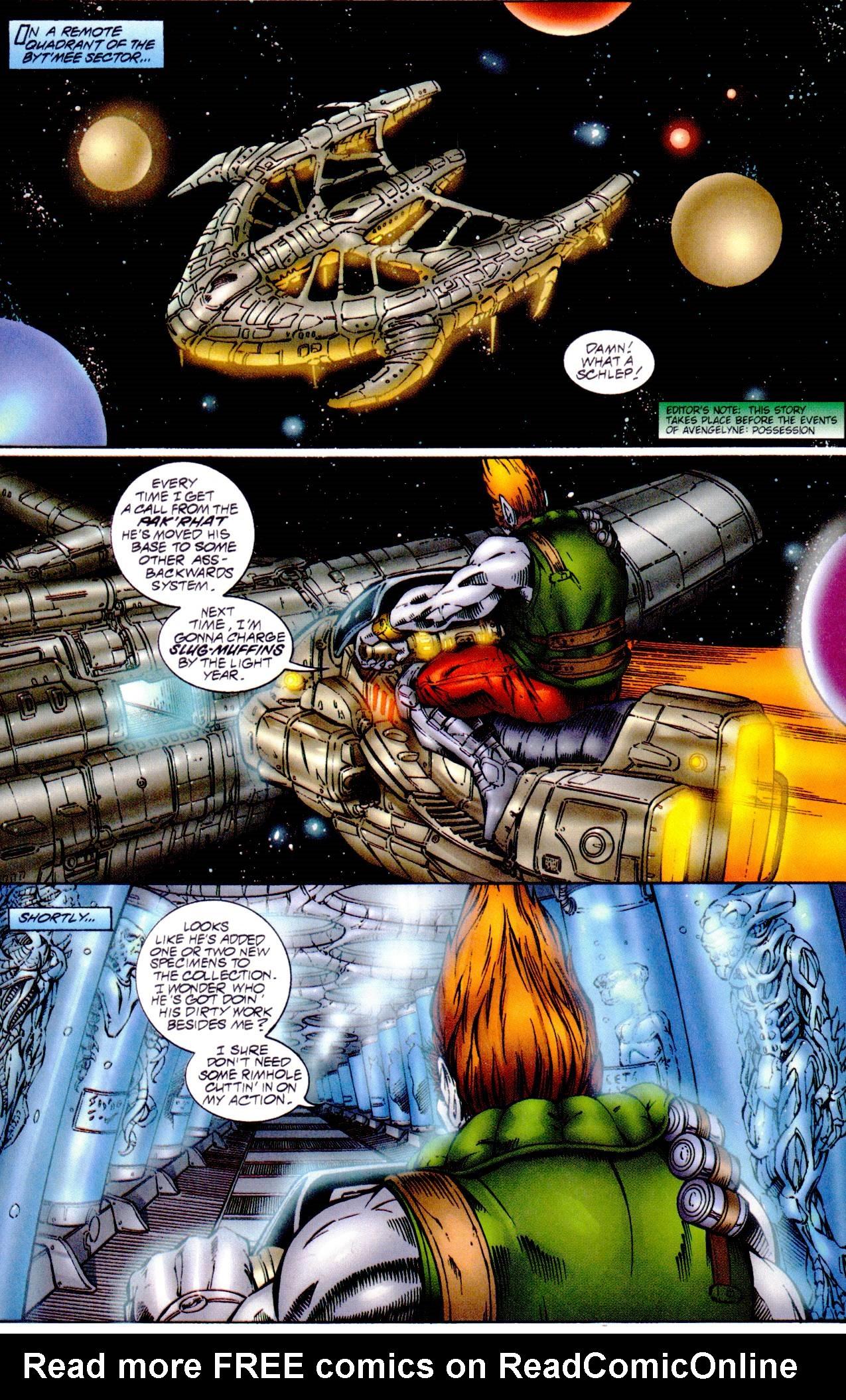 Read online Avengelyne (1996) comic -  Issue #14 - 3