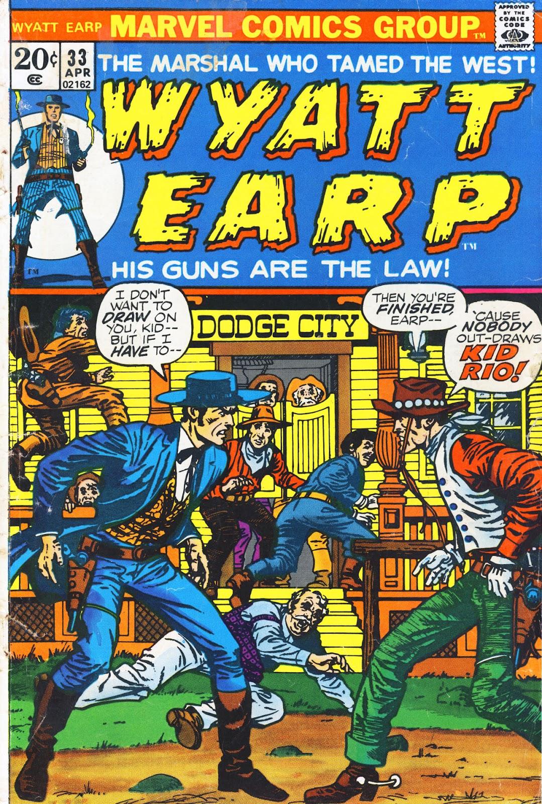 Wyatt Earp issue 33 - Page 1