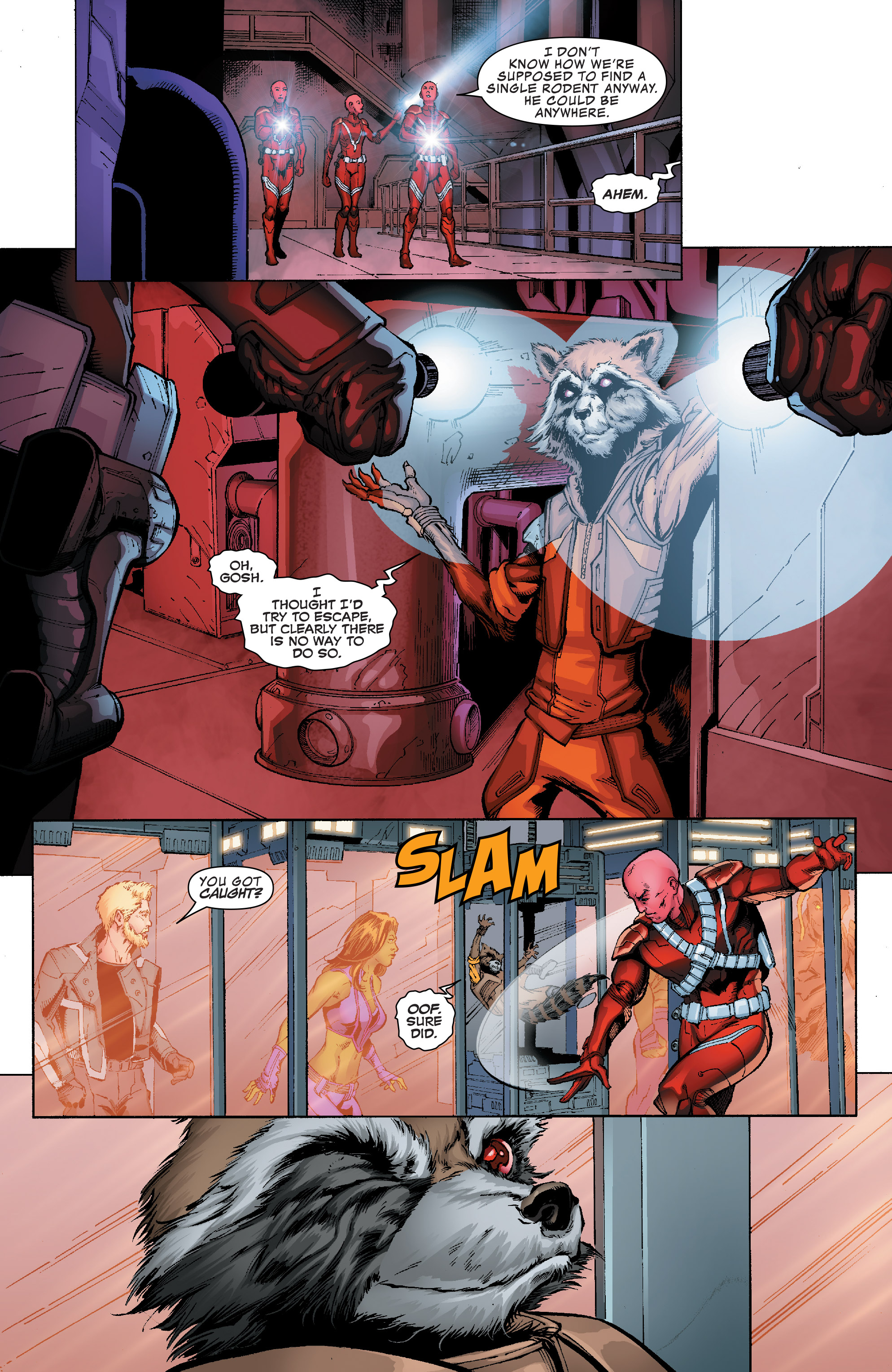 Read online Guardians of the Galaxy: Mission Breakout comic -  Issue # Full - 15