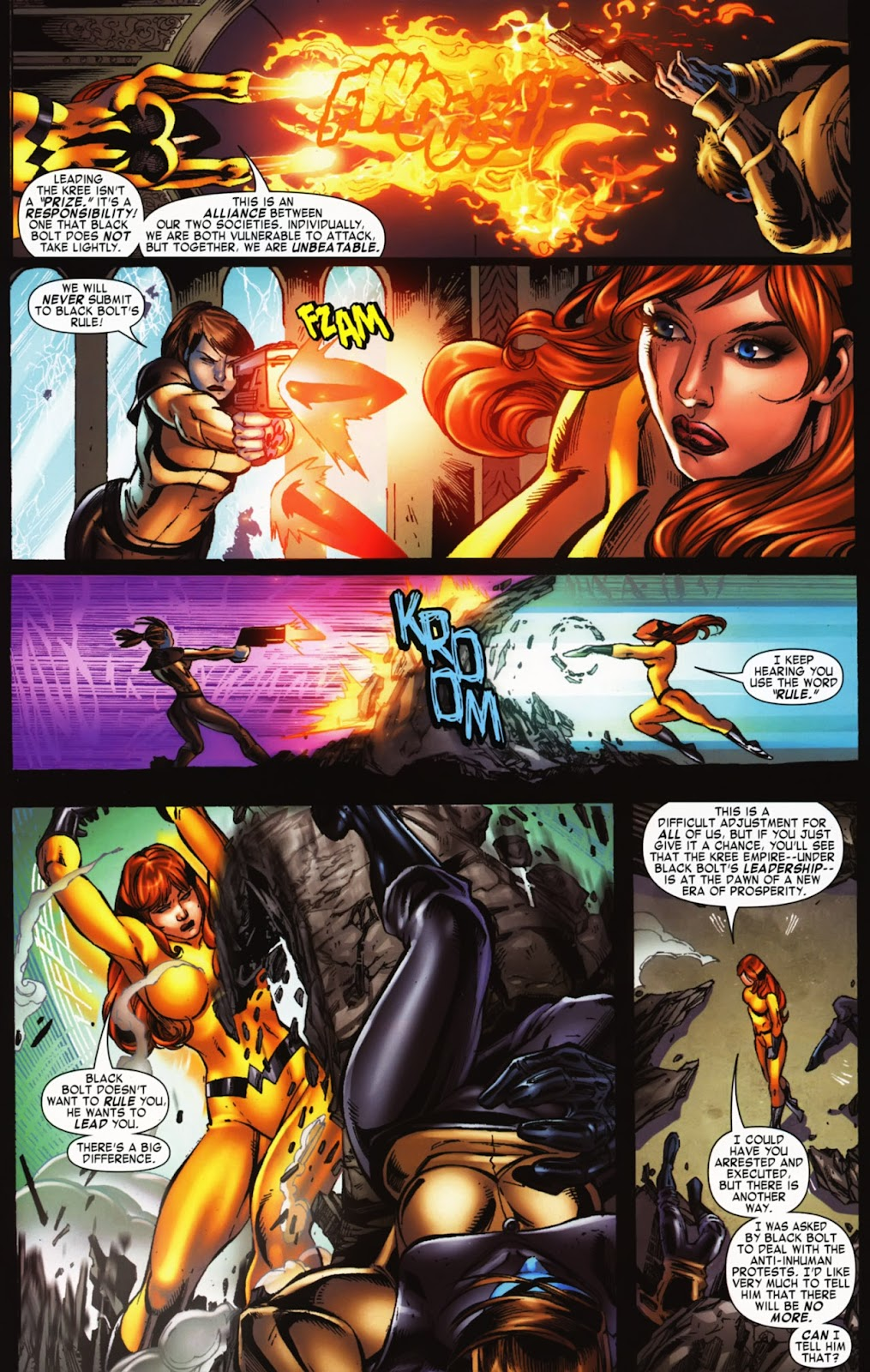 War of Kings: Warriors Issue #2 #2 - English 9