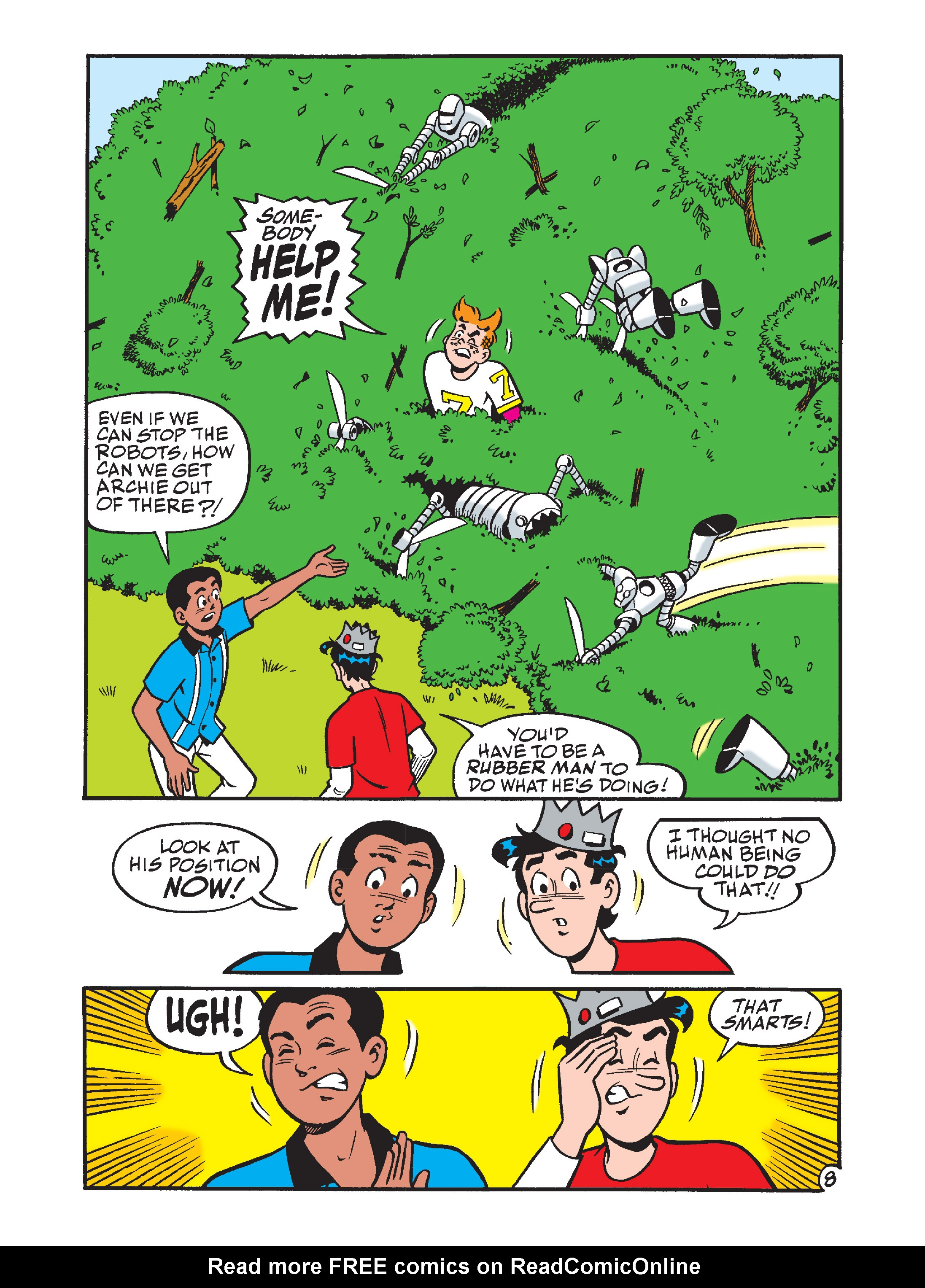 Read online Archie's Funhouse Double Digest comic -  Issue #7 - 87
