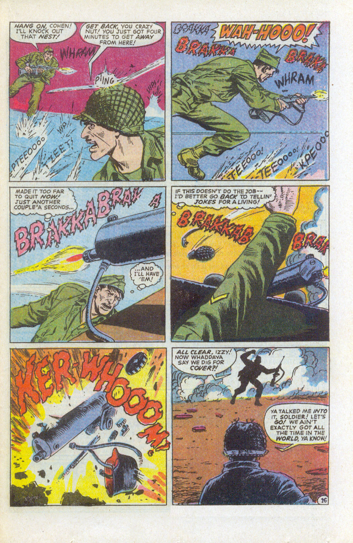 Read online Sgt. Fury comic -  Issue #159 - 23