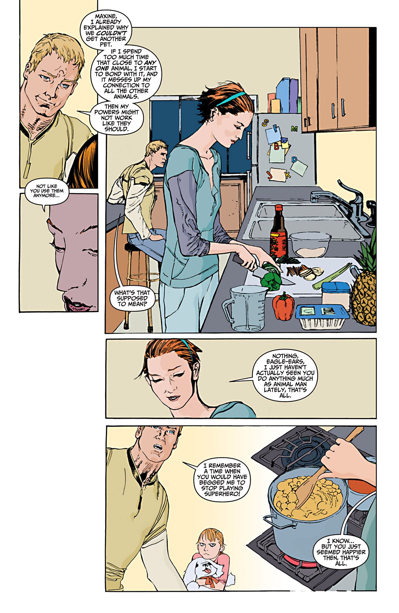 Read online Animal Man (2011) comic -  Issue #1 - 5