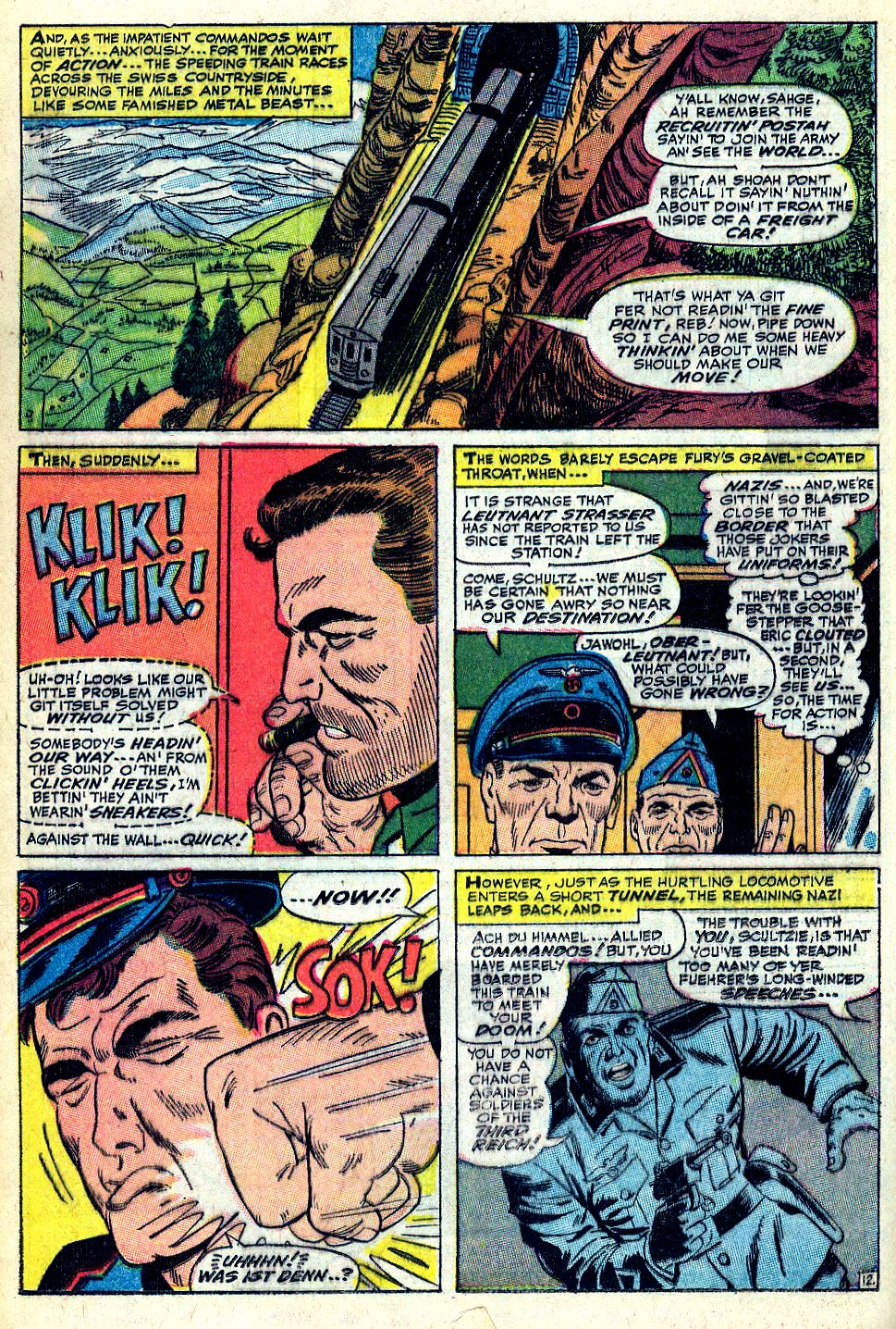 Read online Sgt. Fury comic -  Issue #36 - 16