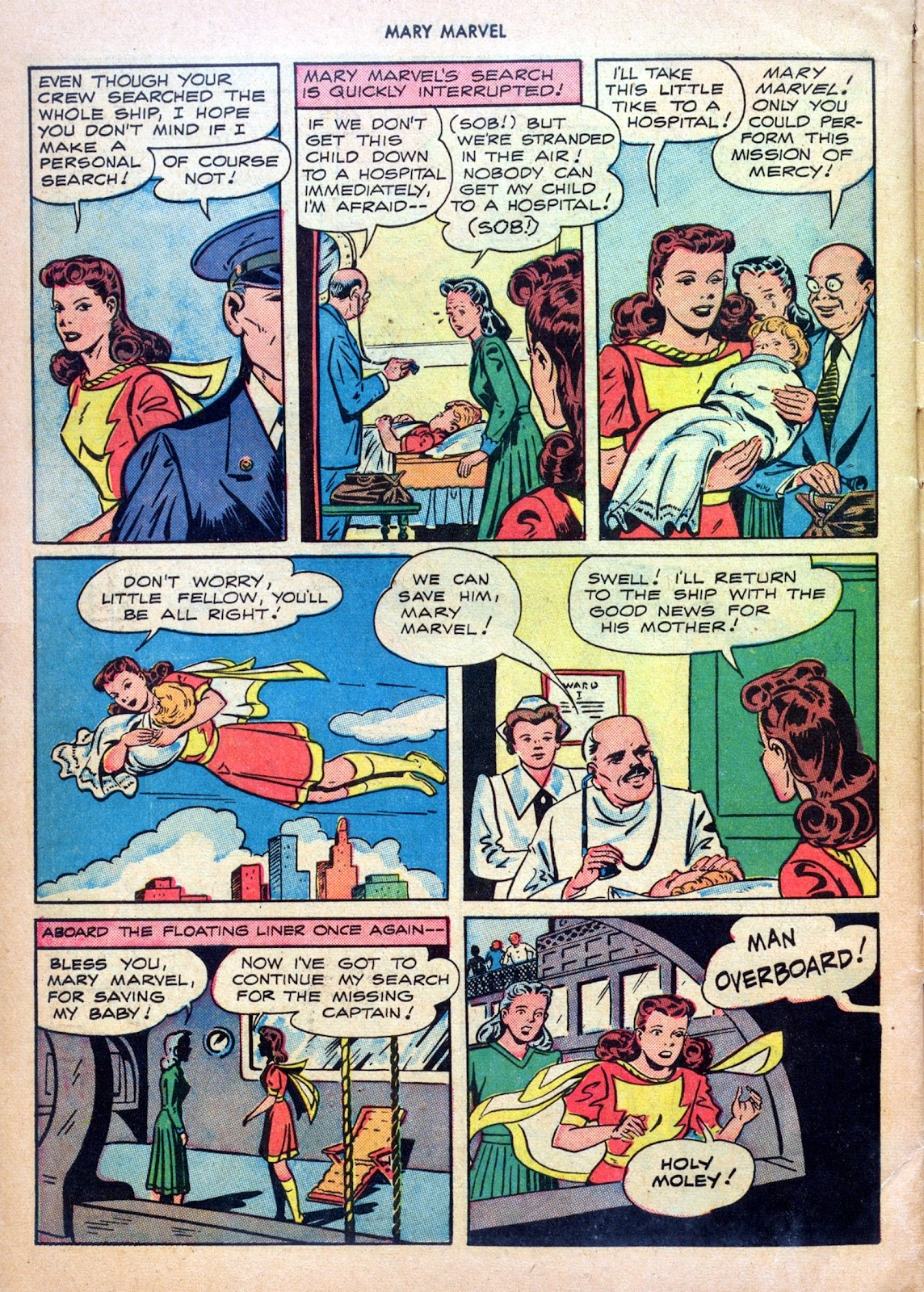 Read online Mary Marvel comic -  Issue #27 - 30