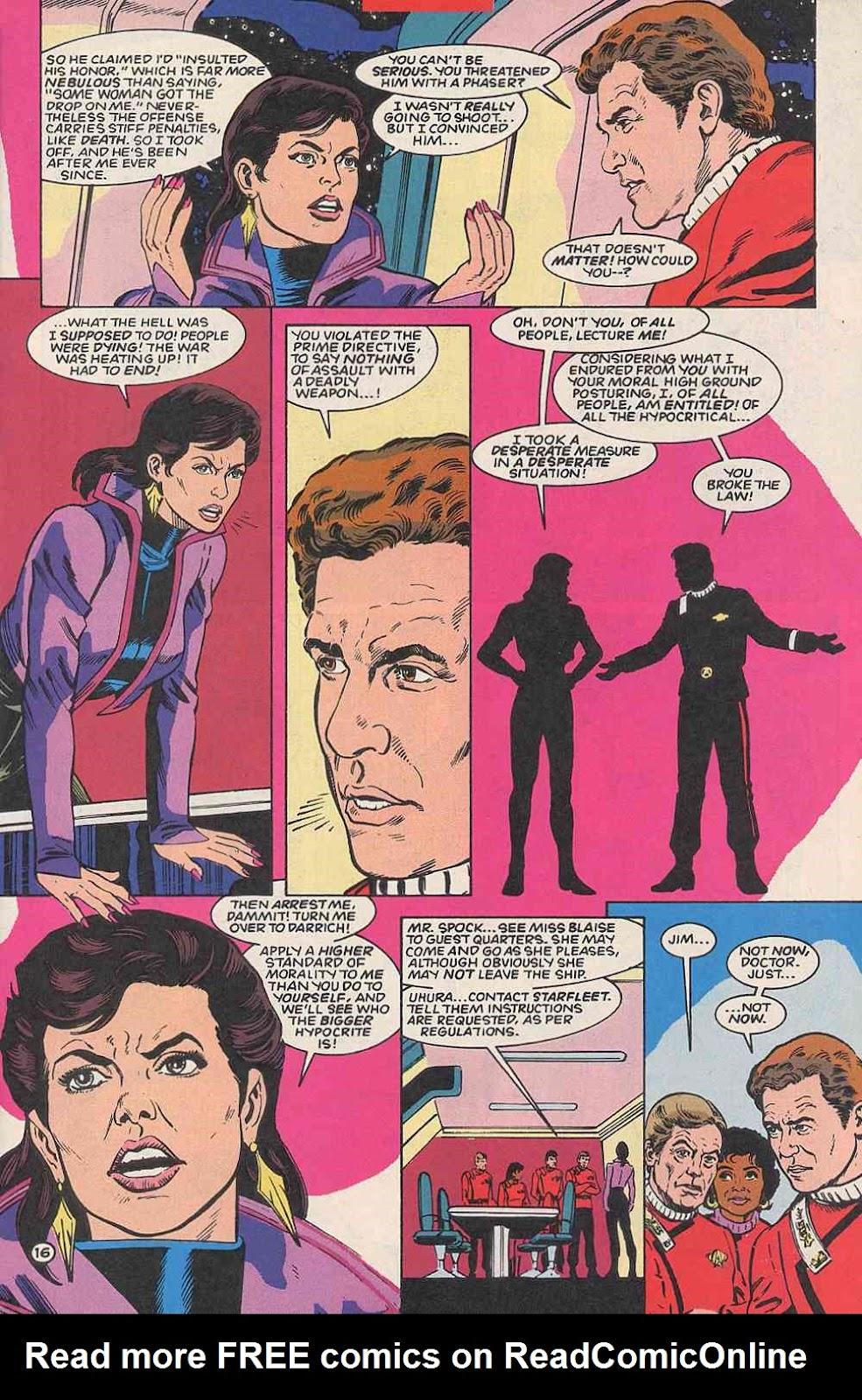 Read online Star Trek (1989) comic -  Issue # _Special 1 - 21