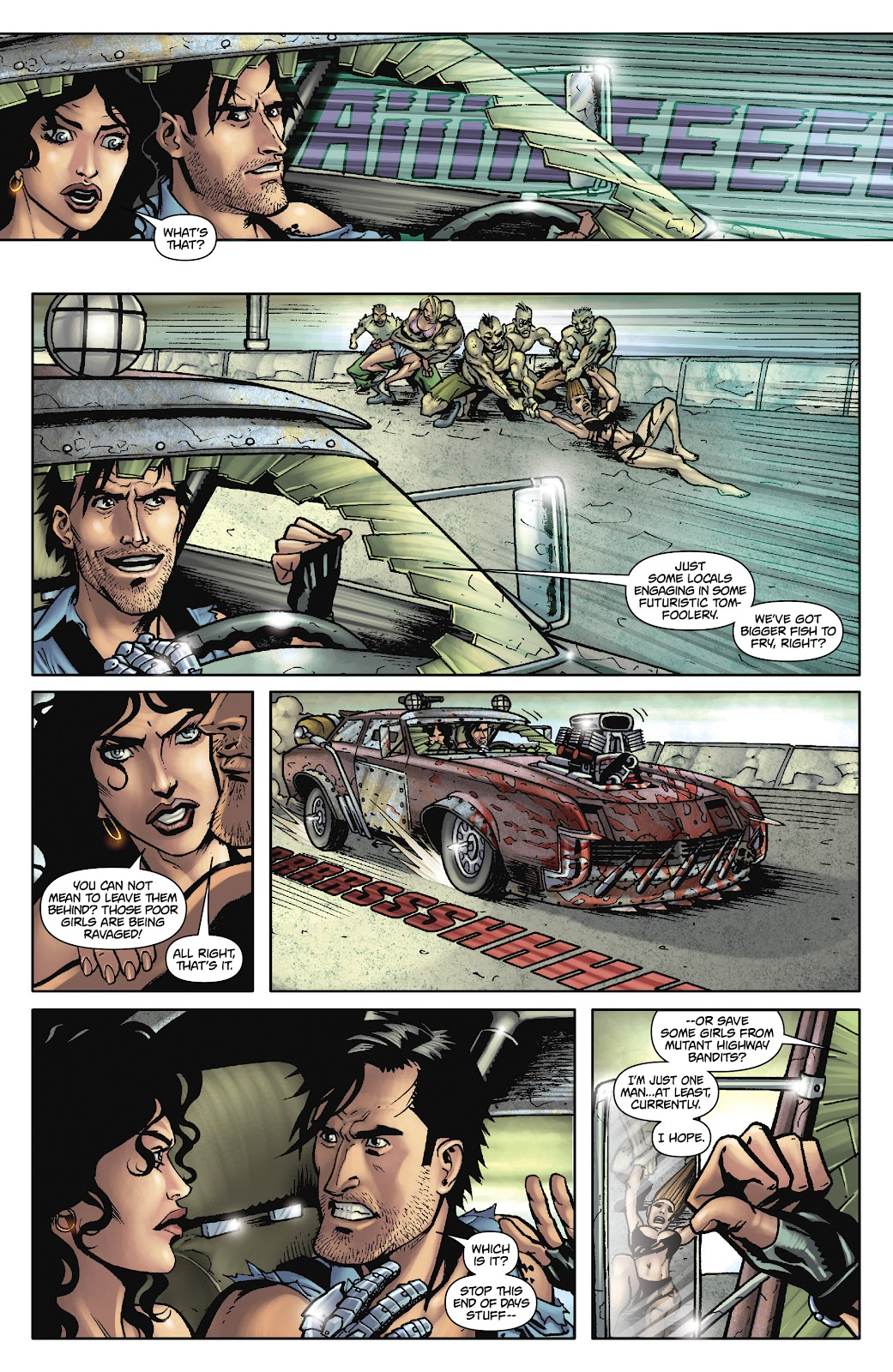 Army of Darkness: The Long Road Home issue TPB - Page 28