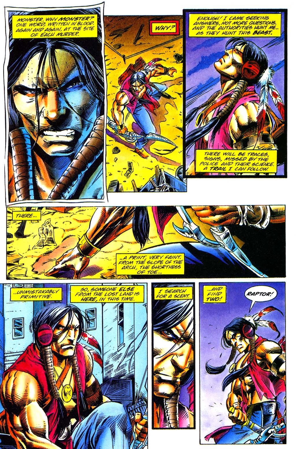 Read online Turok, Dinosaur Hunter (1993) comic -  Issue #29 - 10