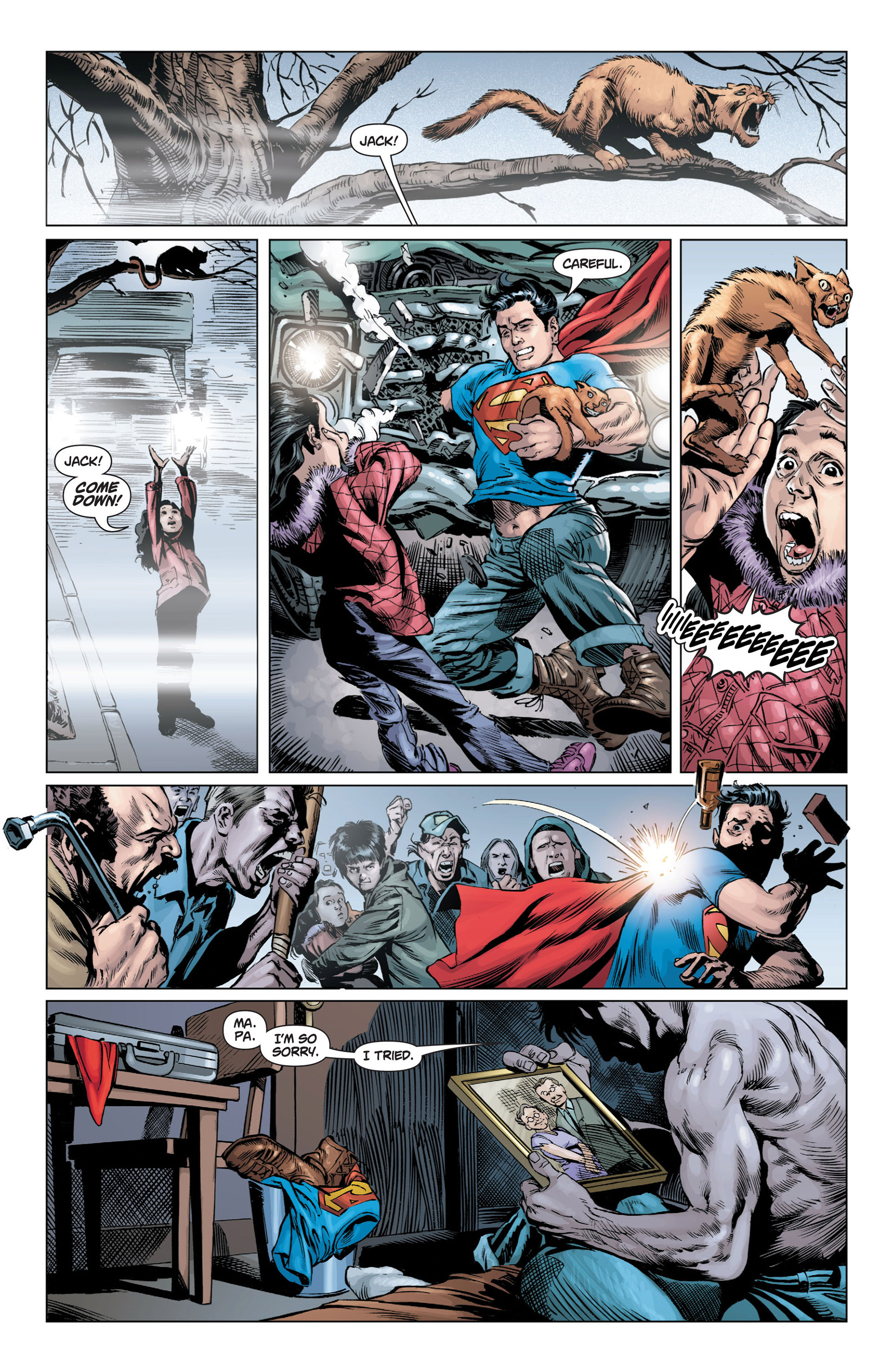 Read online Action Comics (2011) comic -  Issue #3 - 17