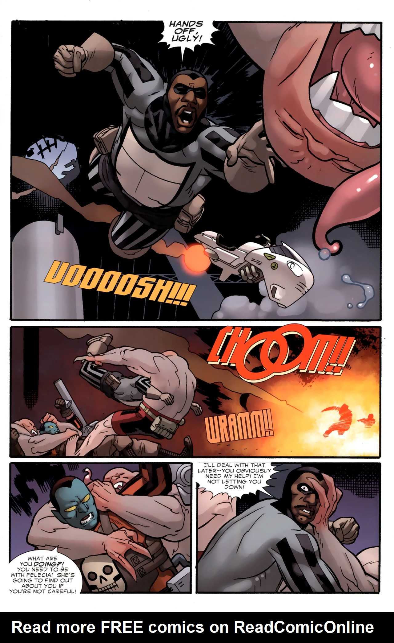 Read online Destroyer comic -  Issue #4 - 10