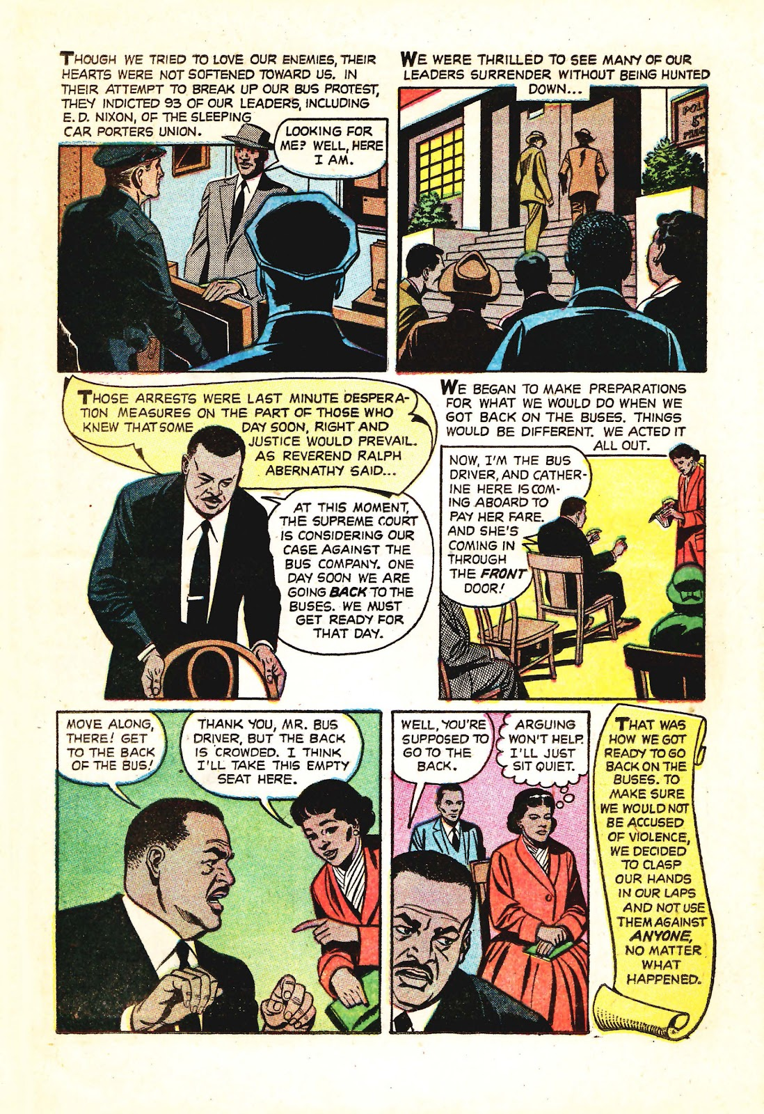 Read online Martin Luther King and the Montgomery Story comic -  Issue # Full - 8