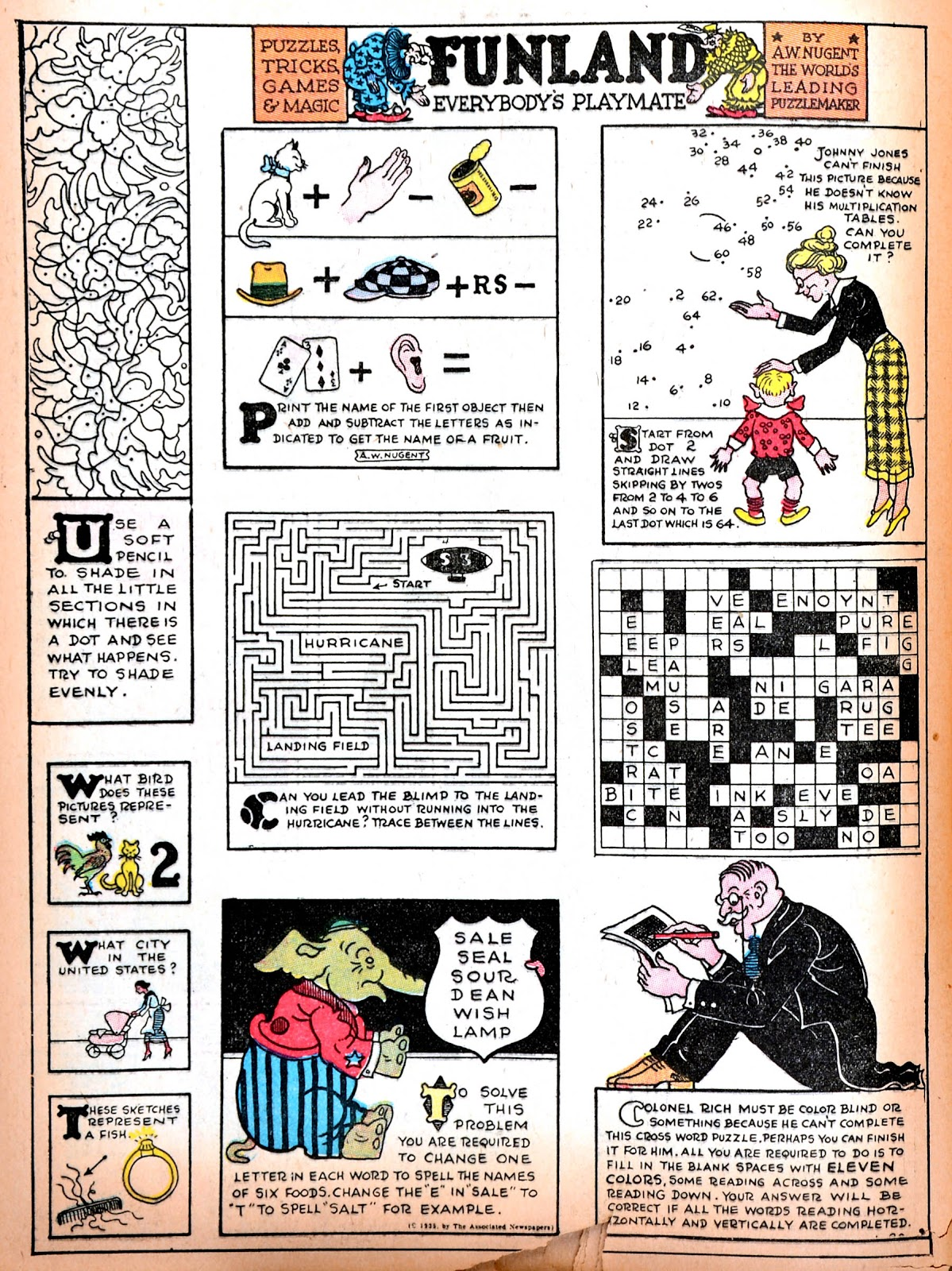 Read online Famous Funnies comic -  Issue #11 - 59