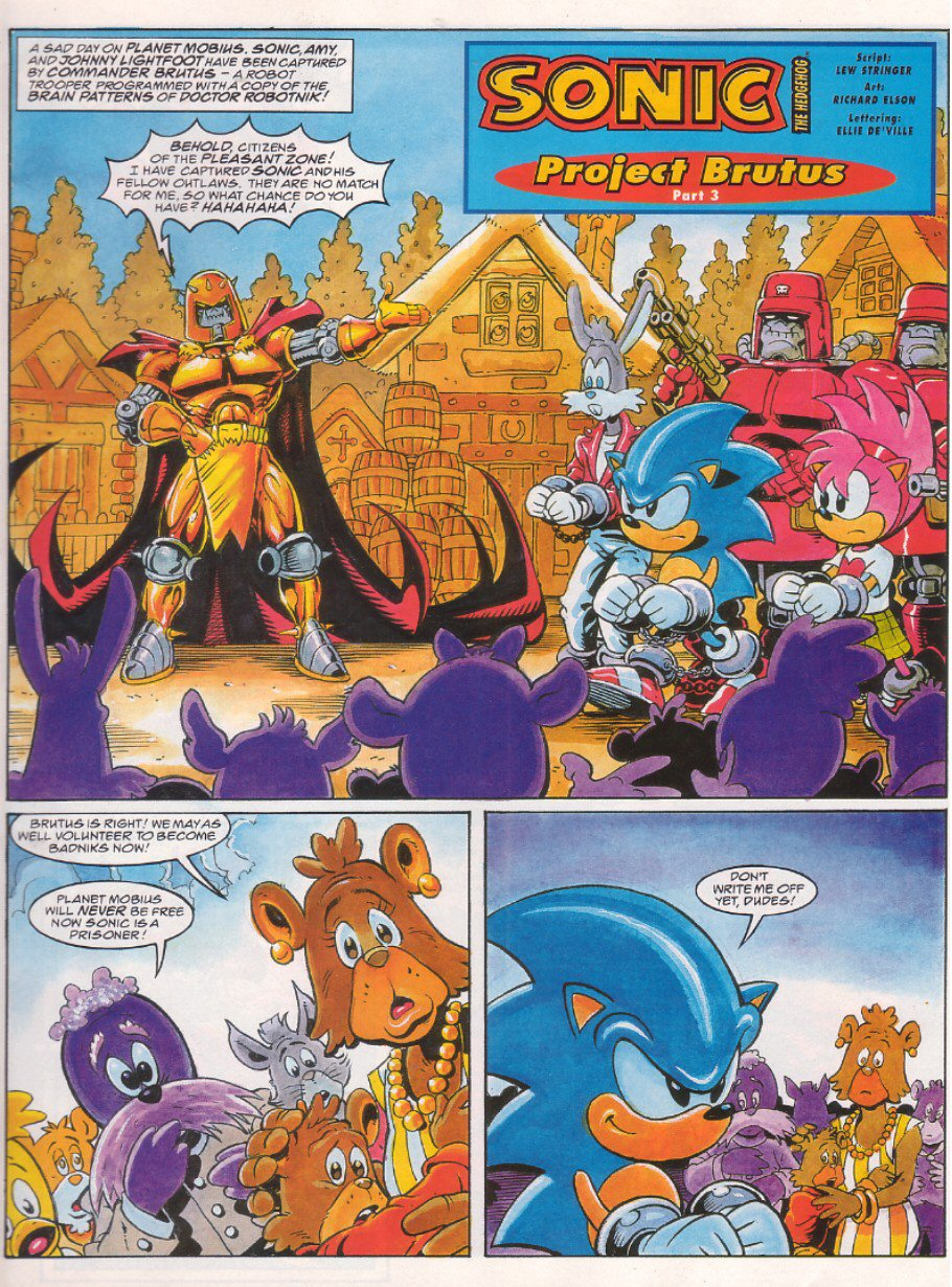 Read online Sonic the Comic comic -  Issue #65 - 3