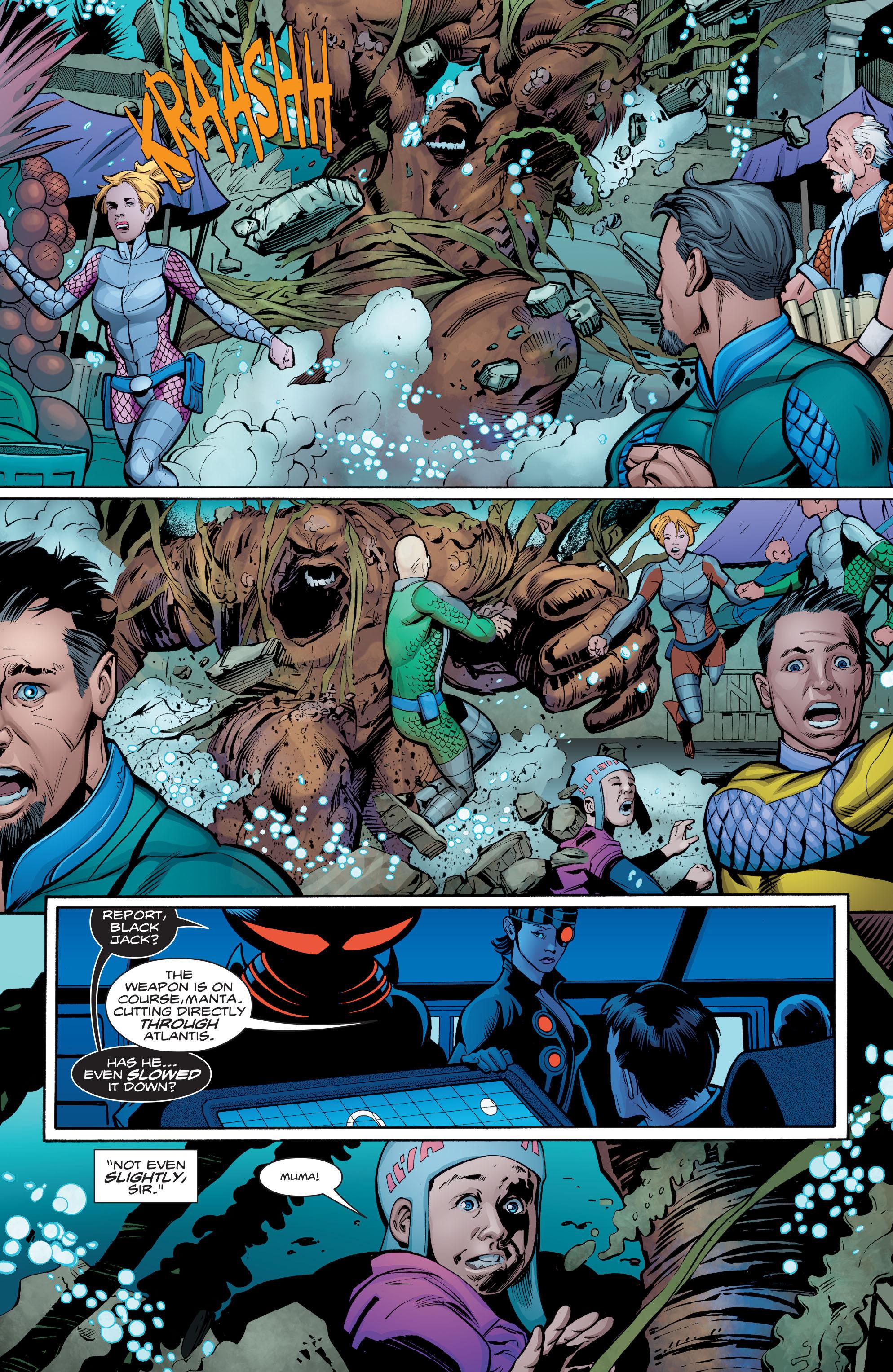Read online Aquaman (2016) comic -  Issue #8 - 16