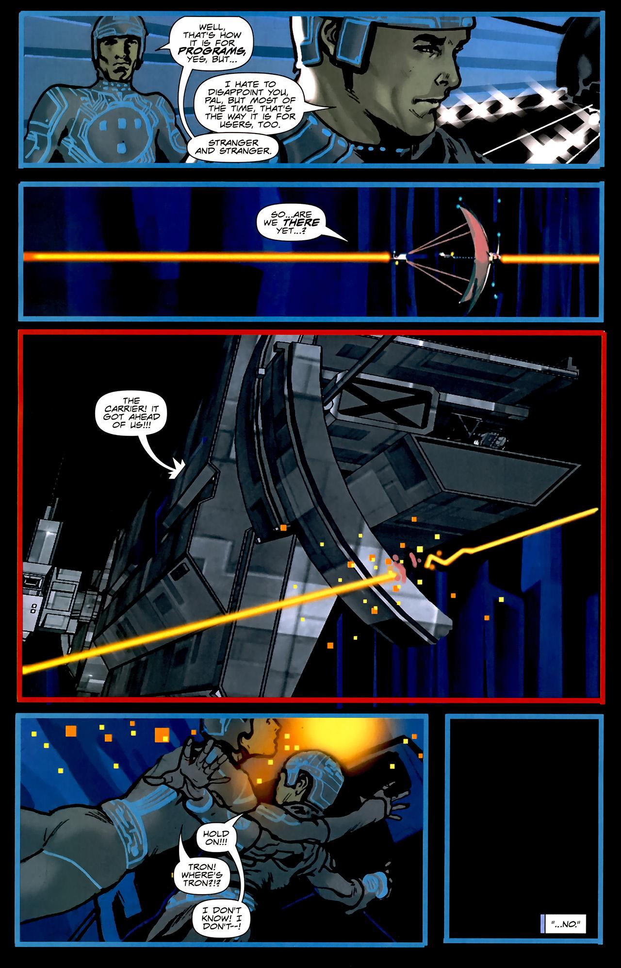 Read online TRON: Original Movie Adaptation comic -  Issue #2 - 23