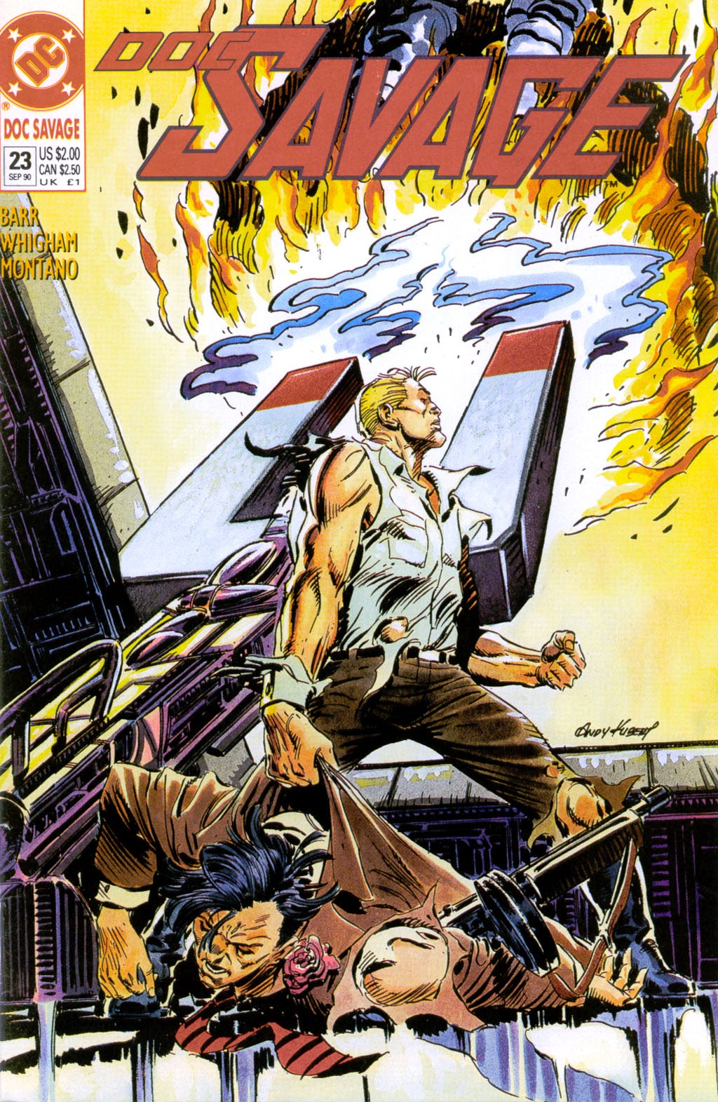 Doc Savage (1988) issue 23 - Page 1