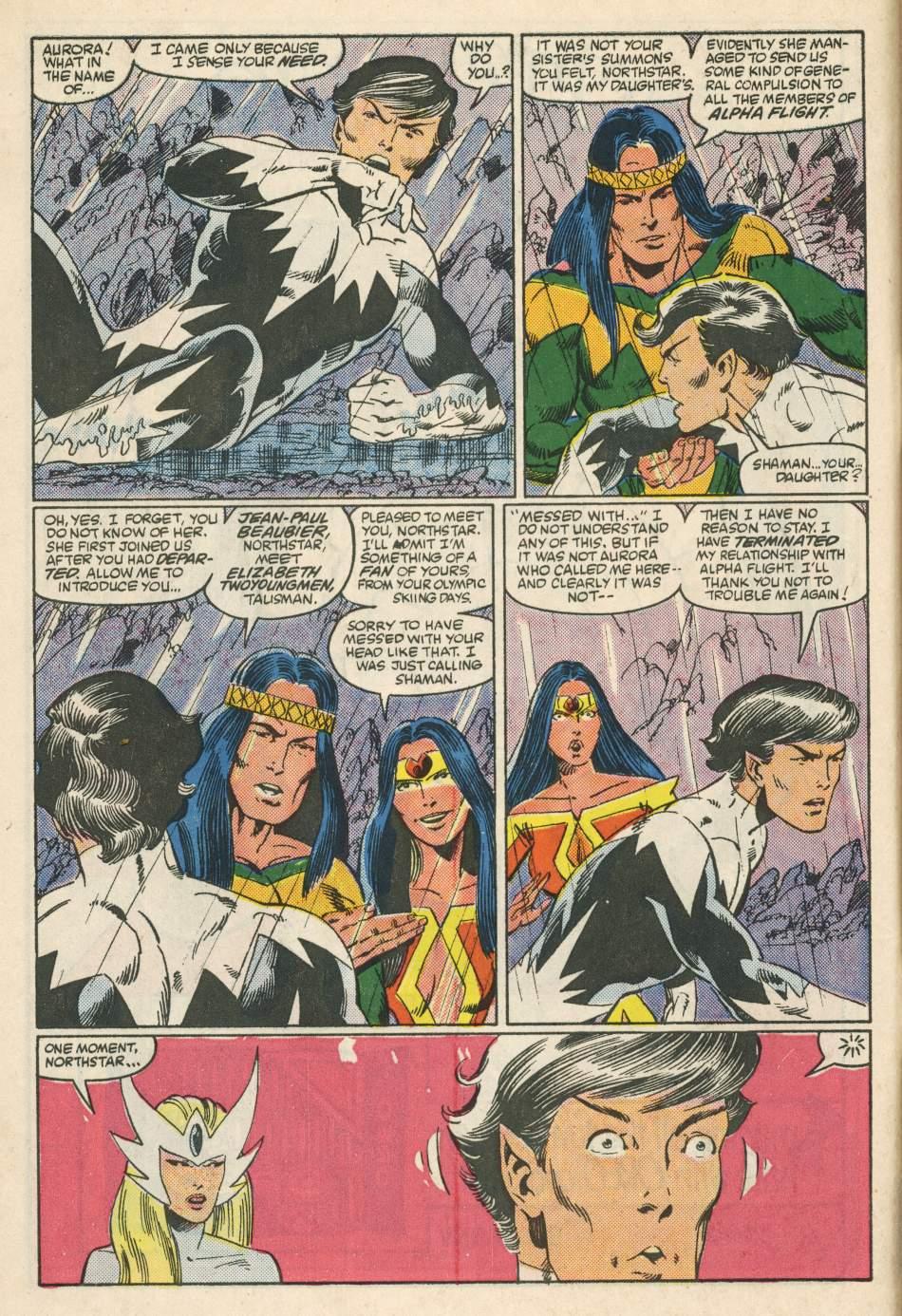 Read online Alpha Flight (1983) comic -  Issue #24 - 6