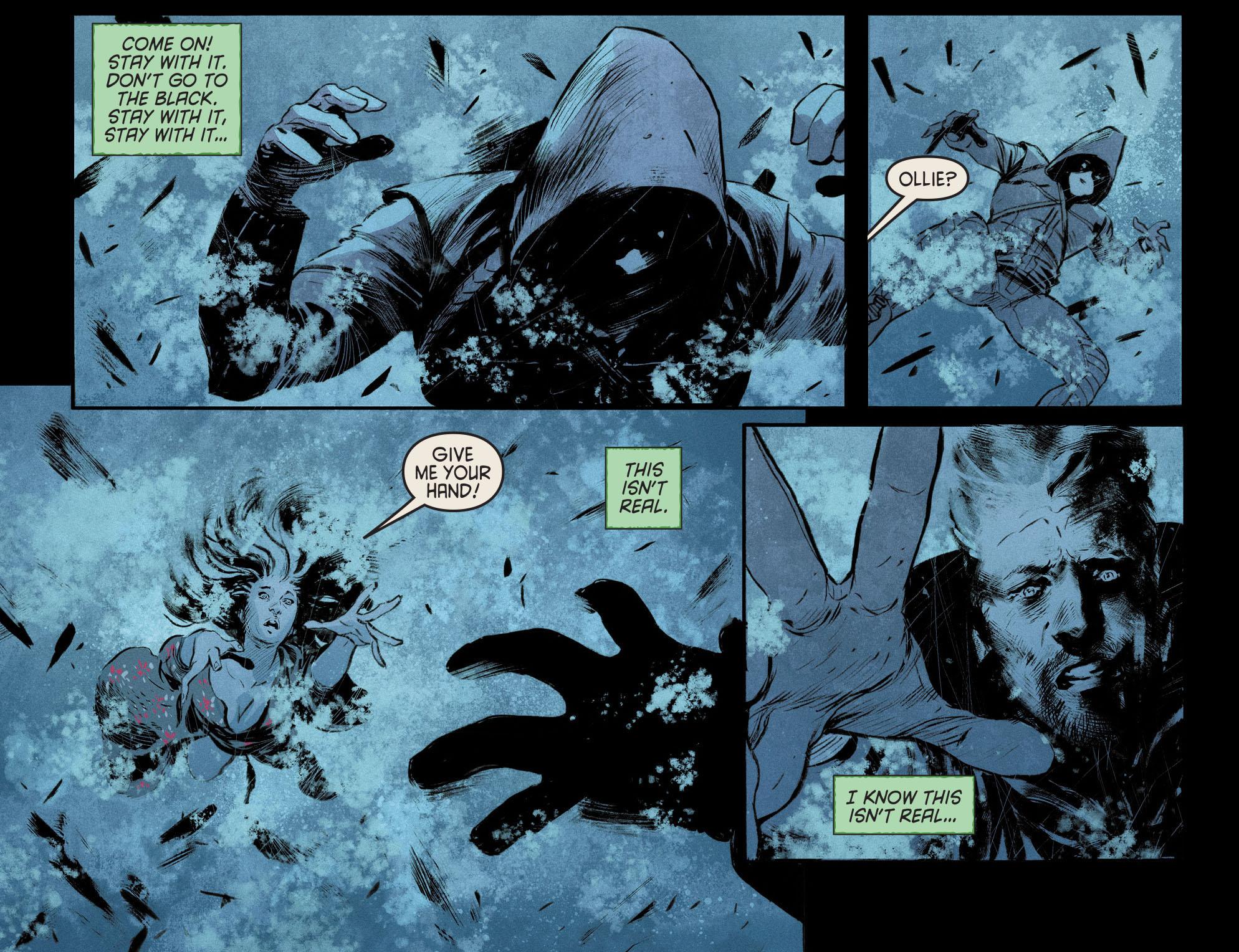Read online Arrow [II] comic -  Issue #12 - 20