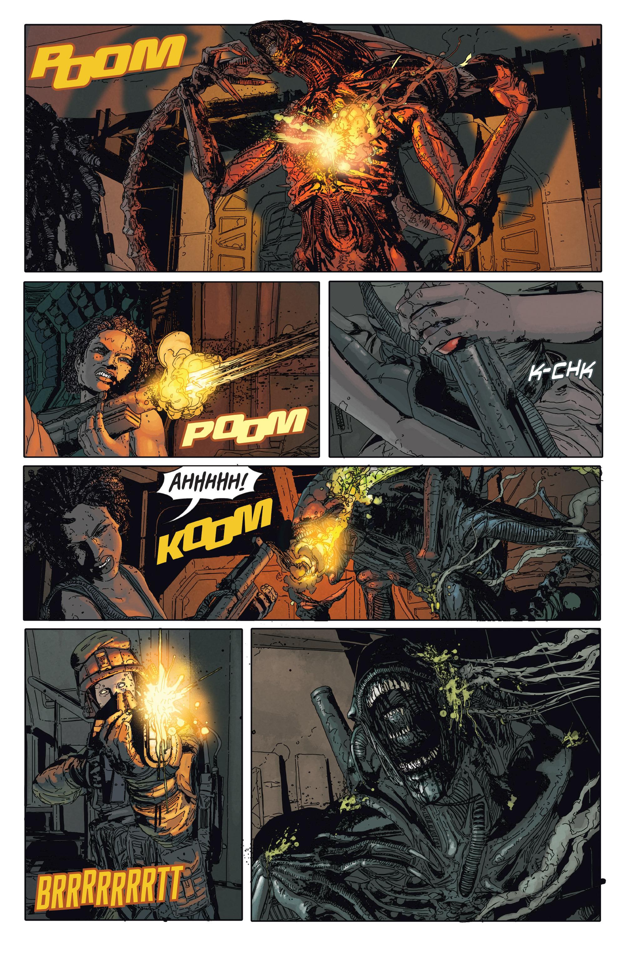 Read online Aliens: Defiance comic -  Issue #2 - 18