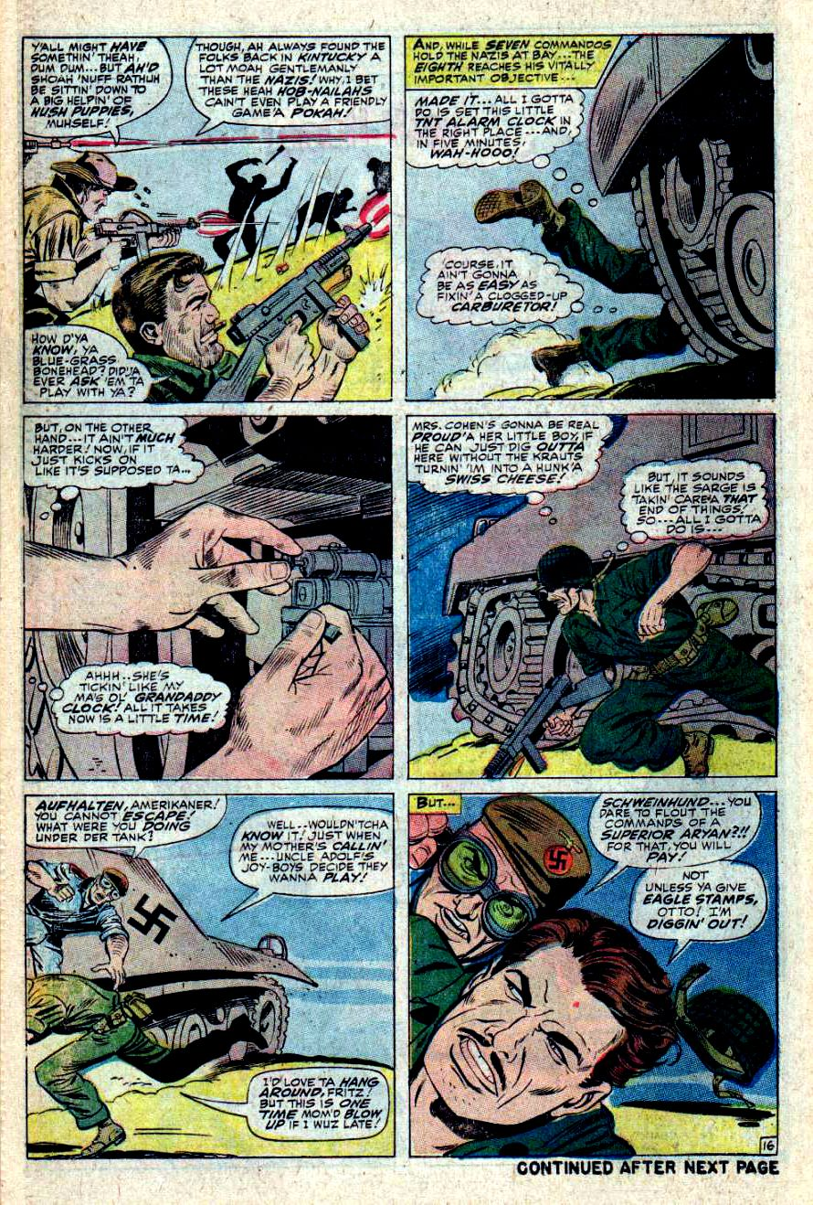 Read online Sgt. Fury comic -  Issue #43 - 22