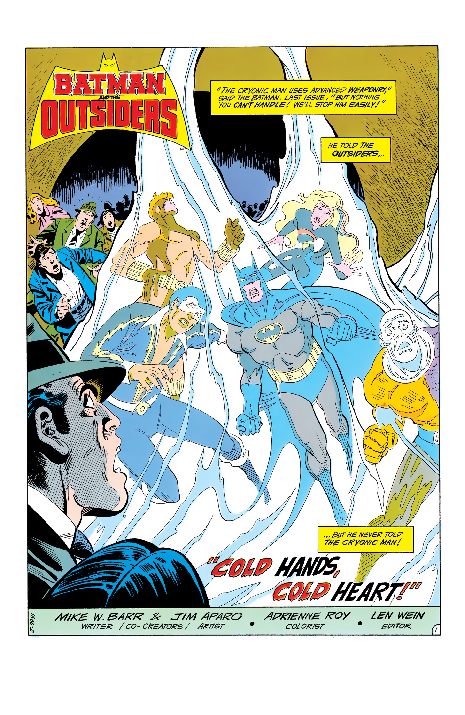 Batman and the Outsiders (1983) 7 Page 2