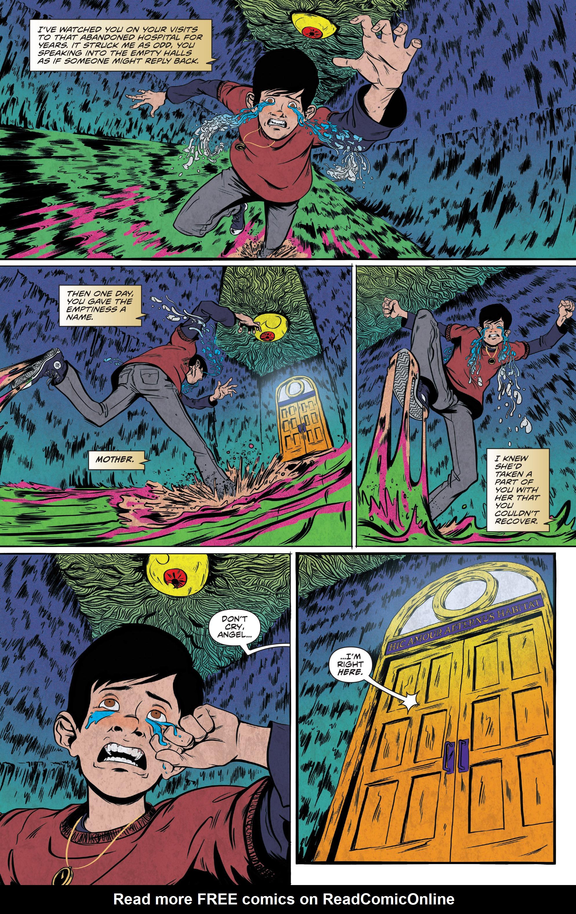 Read online Translucid comic -  Issue #5 - 22