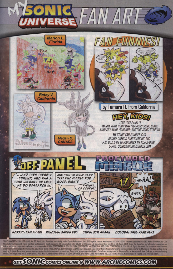 Read online Sonic Universe comic -  Issue #25 - 33