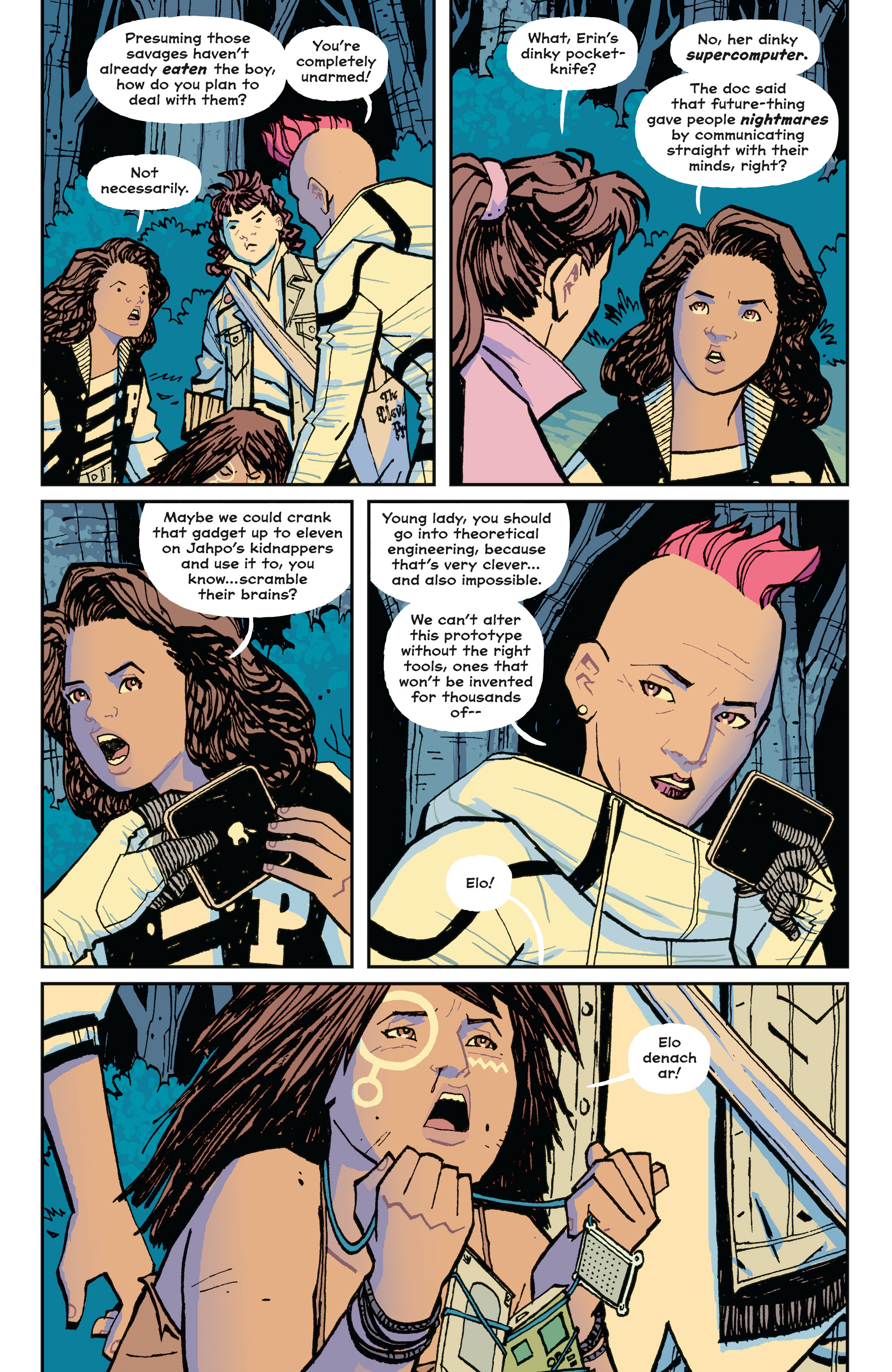 Read online Paper Girls comic -  Issue #15 - 9