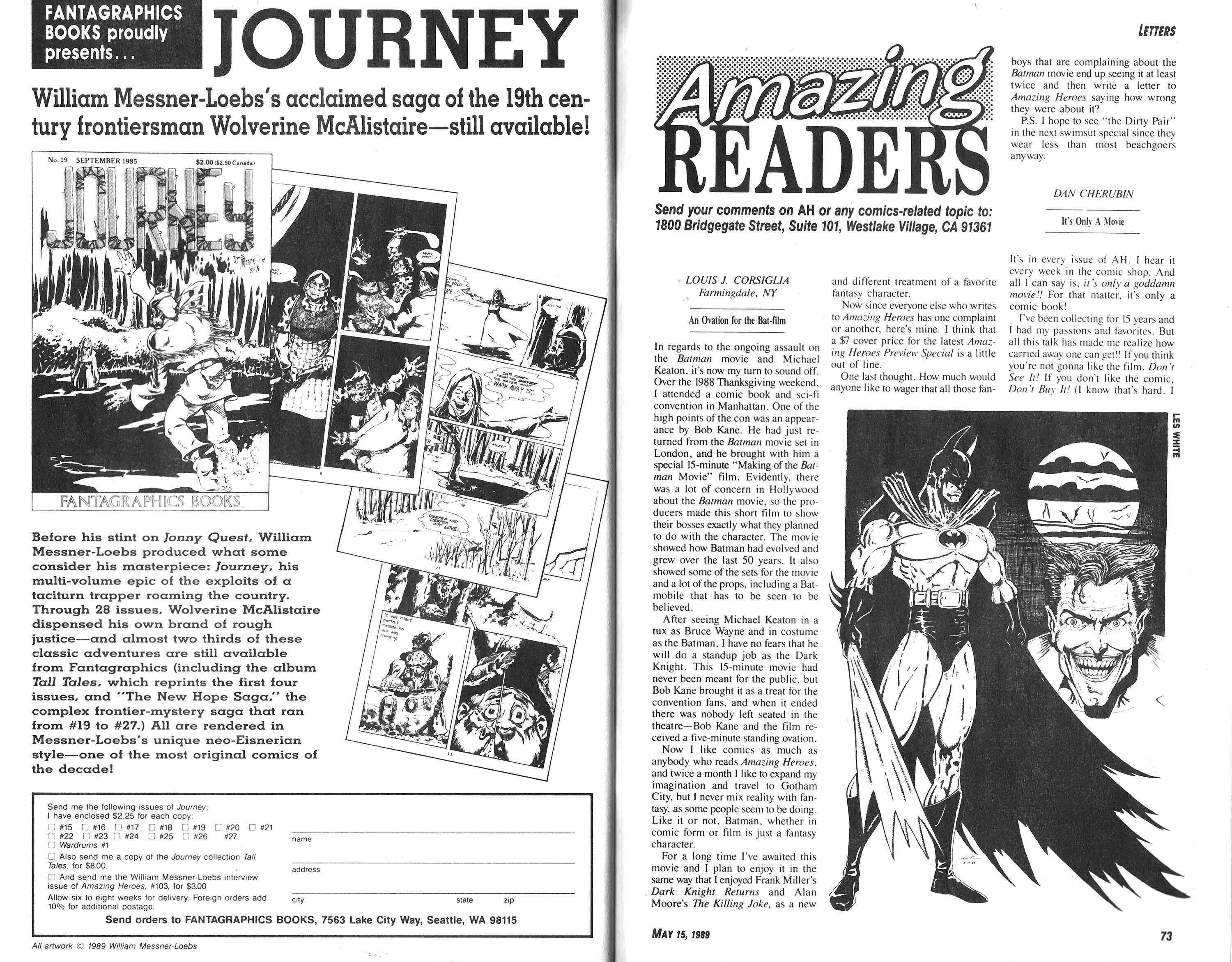 Read online Amazing Heroes comic -  Issue #165 - 37