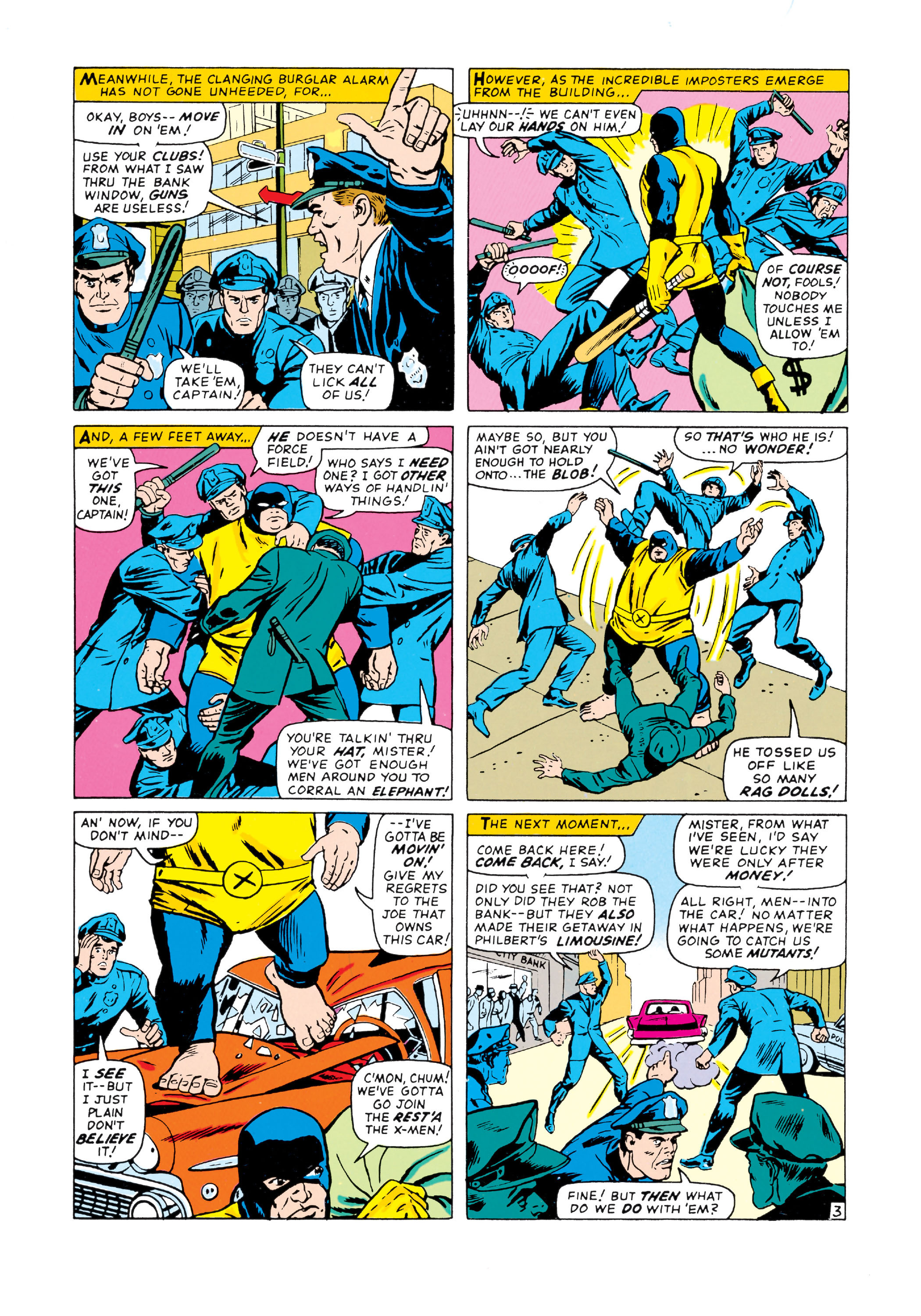Read online Uncanny X-Men (1963) comic -  Issue #20 - 4