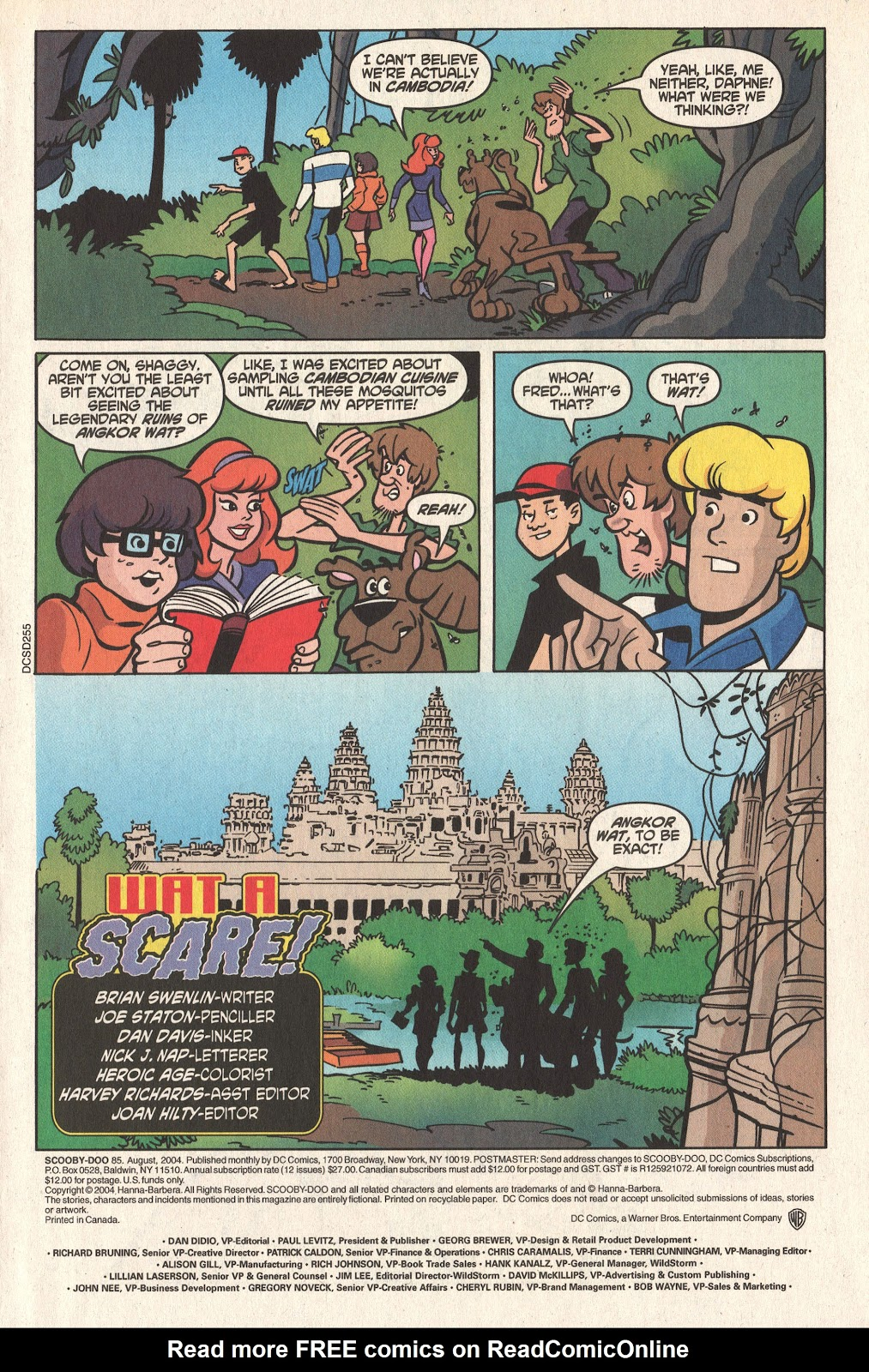 Read online Scooby-Doo (1997) comic -  Issue #85 - 3